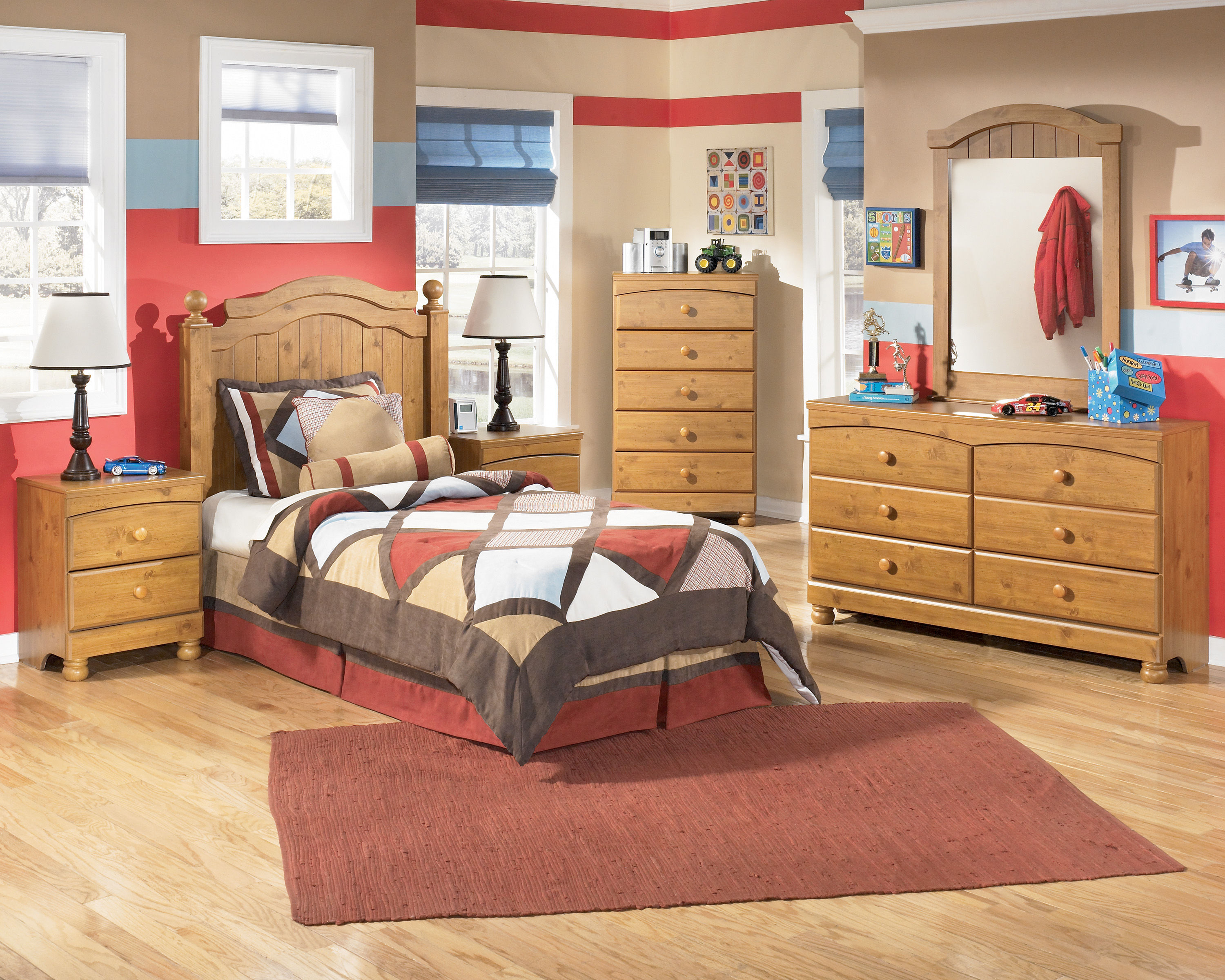stages youth light brown wood bedroom sets the classy home 12093 | b233 21 26 46 52 92 sd
