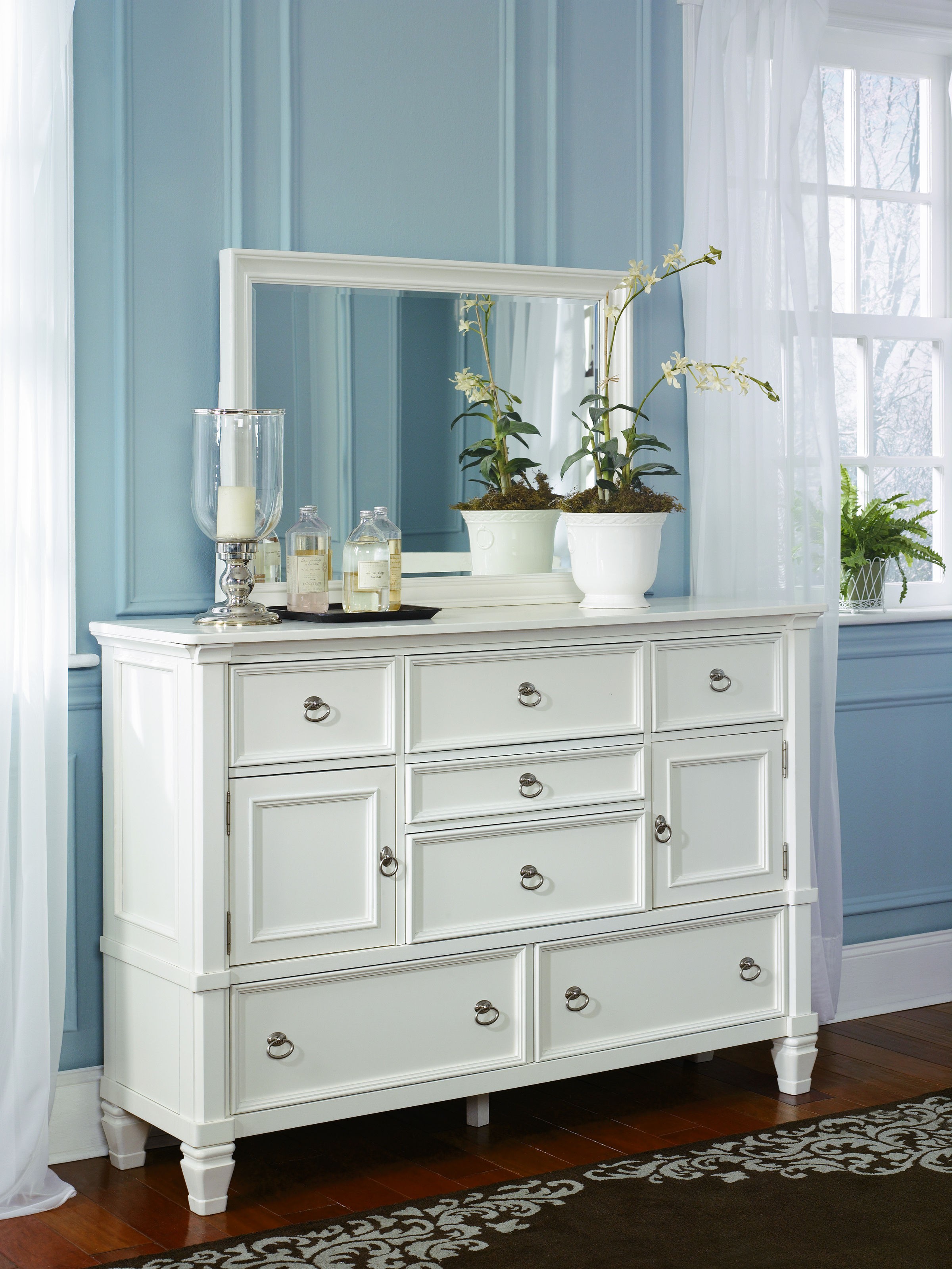 Ashley Furniture Prentice Dresser And Bedroom Mirror Click To Enlarge ...