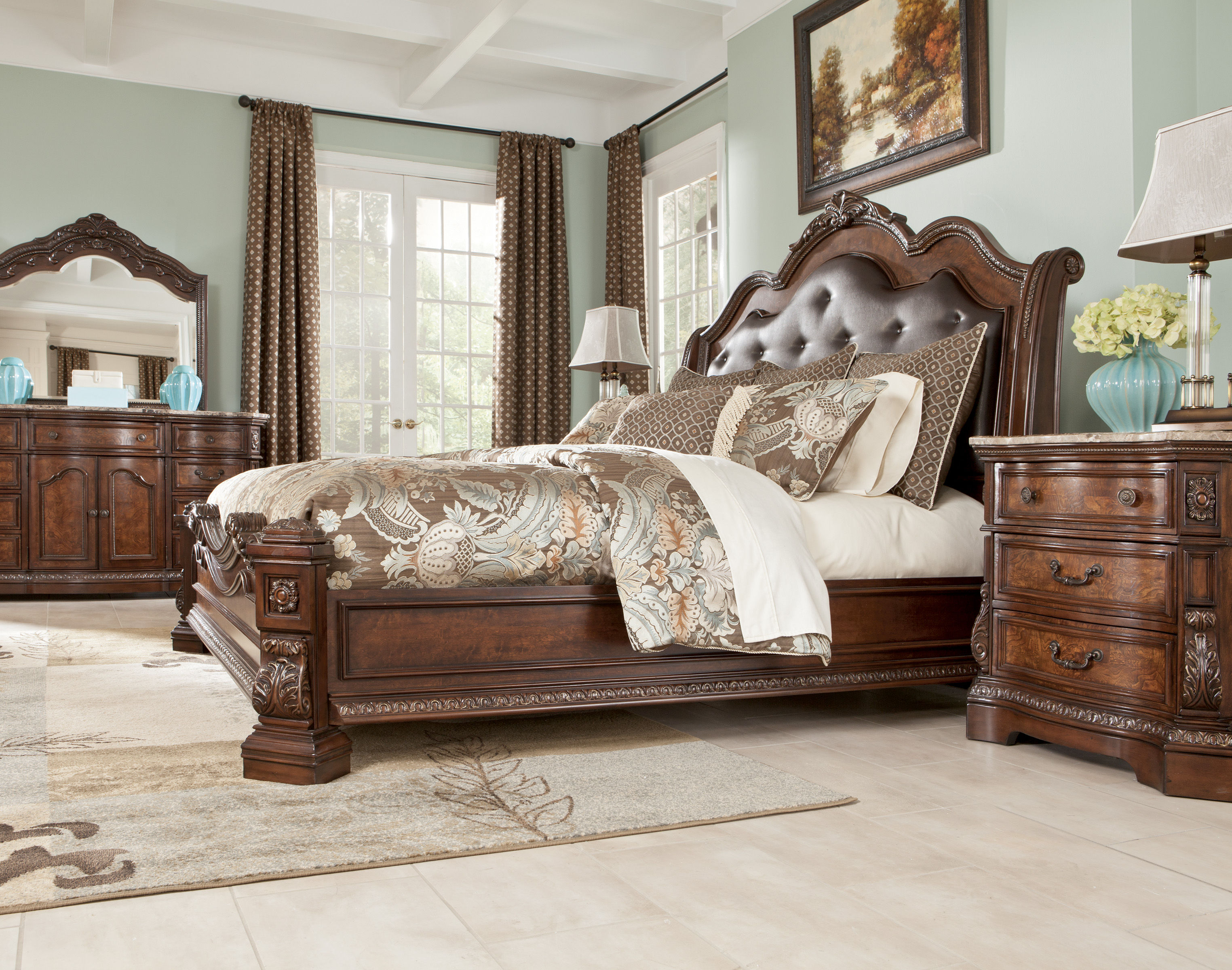 King Poster Bed Part - 49: ... W/King Poster Bed Click To Enlarge Click To Enlarge ...
