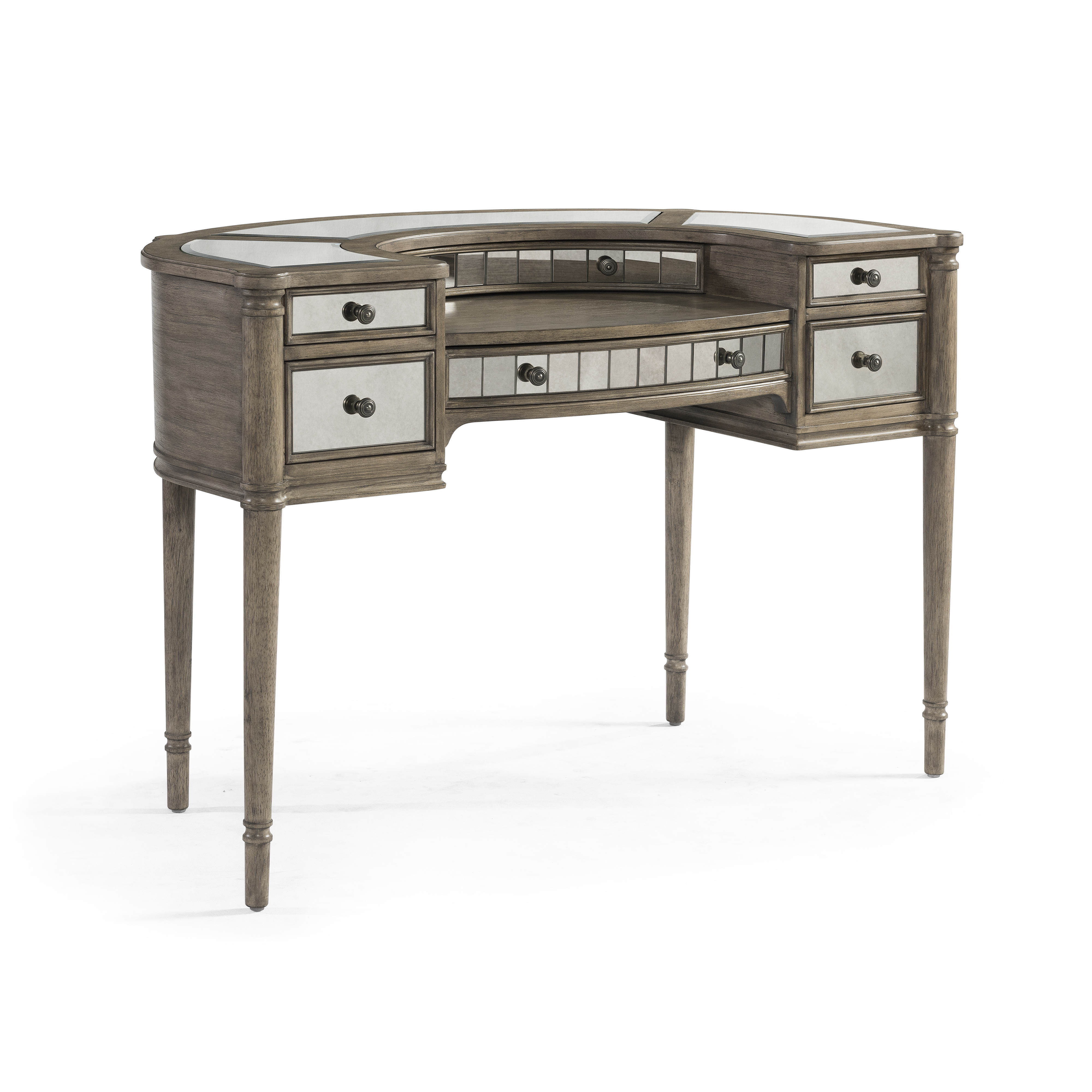 Bassett Mirror Abrielle White Peony Tea Writing Desk The Classy Home