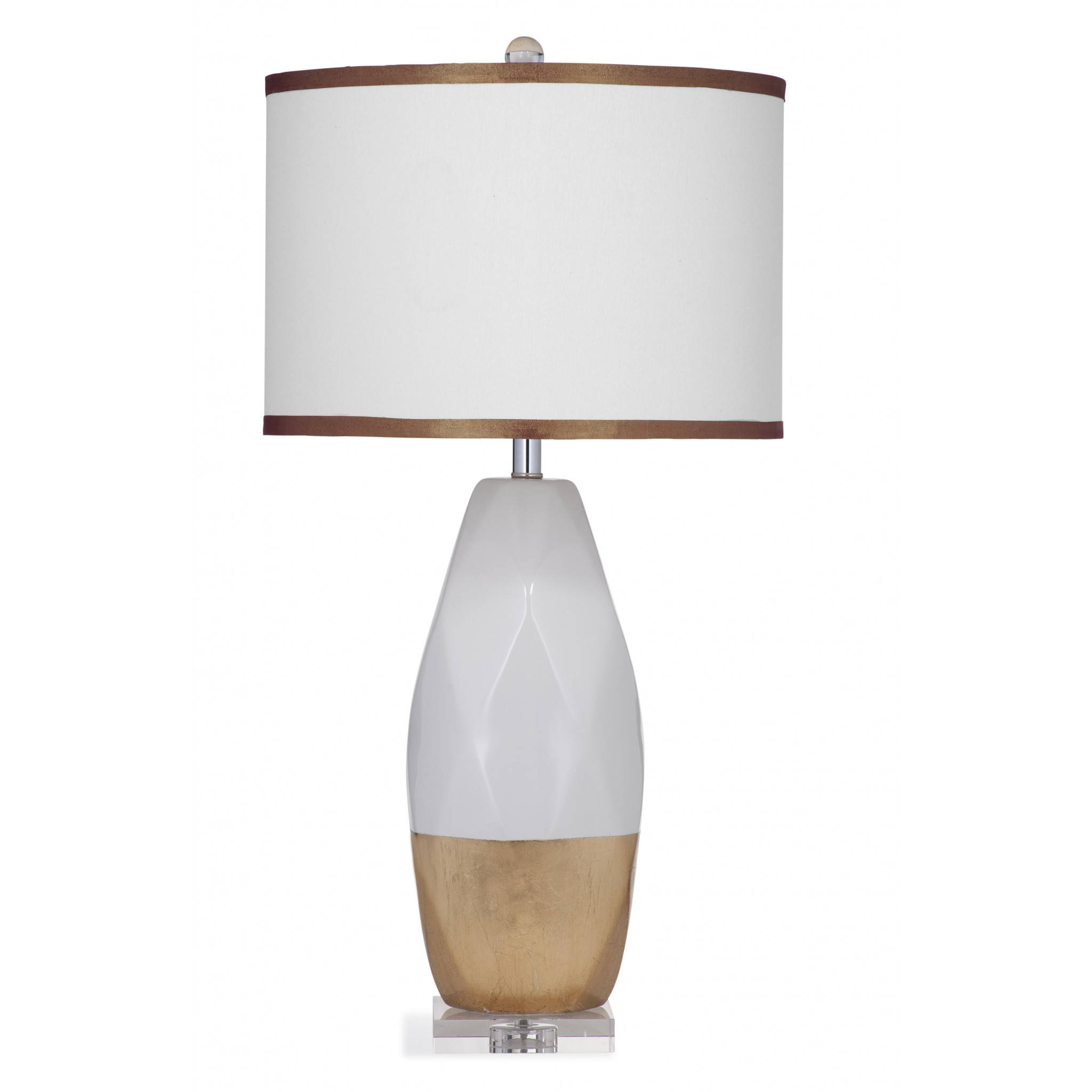 lamps white with and henley safavieh in p gold shade lamp table