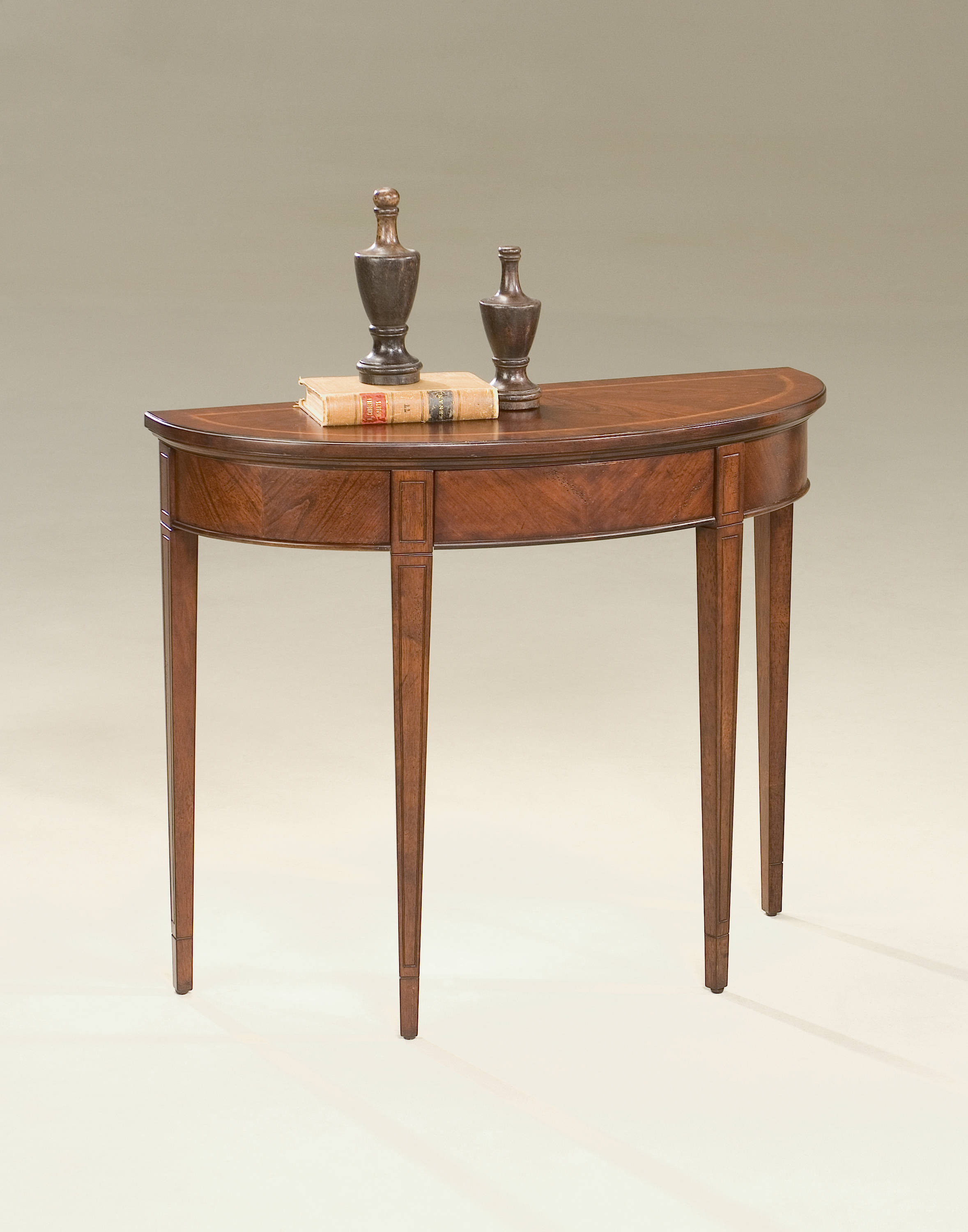 Astounding Butler Specialty Plantation Cherry Hampton Demilune Console Table Pdpeps Interior Chair Design Pdpepsorg
