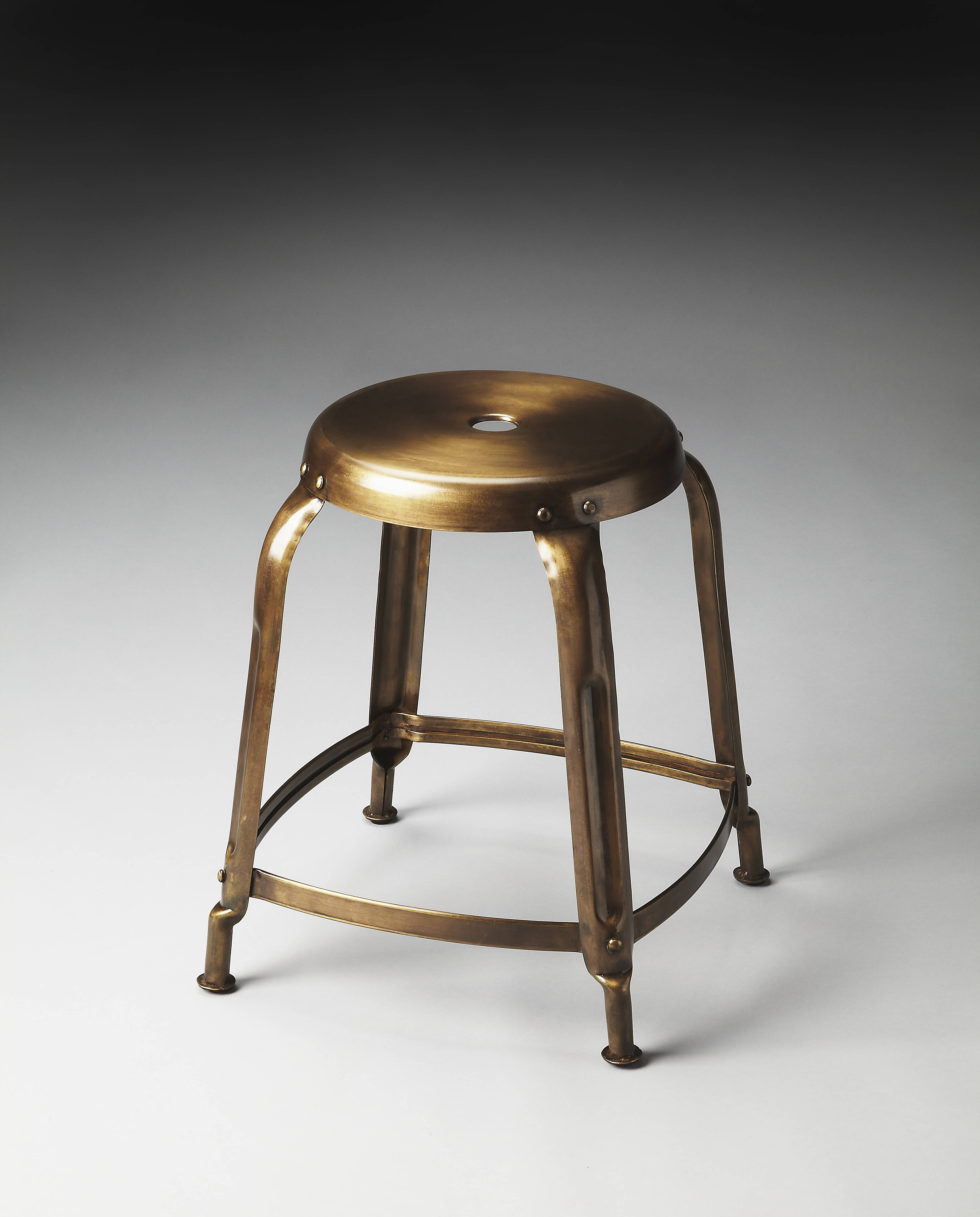 Butler Specialty Industrial Chic Dutton Stool The Classy