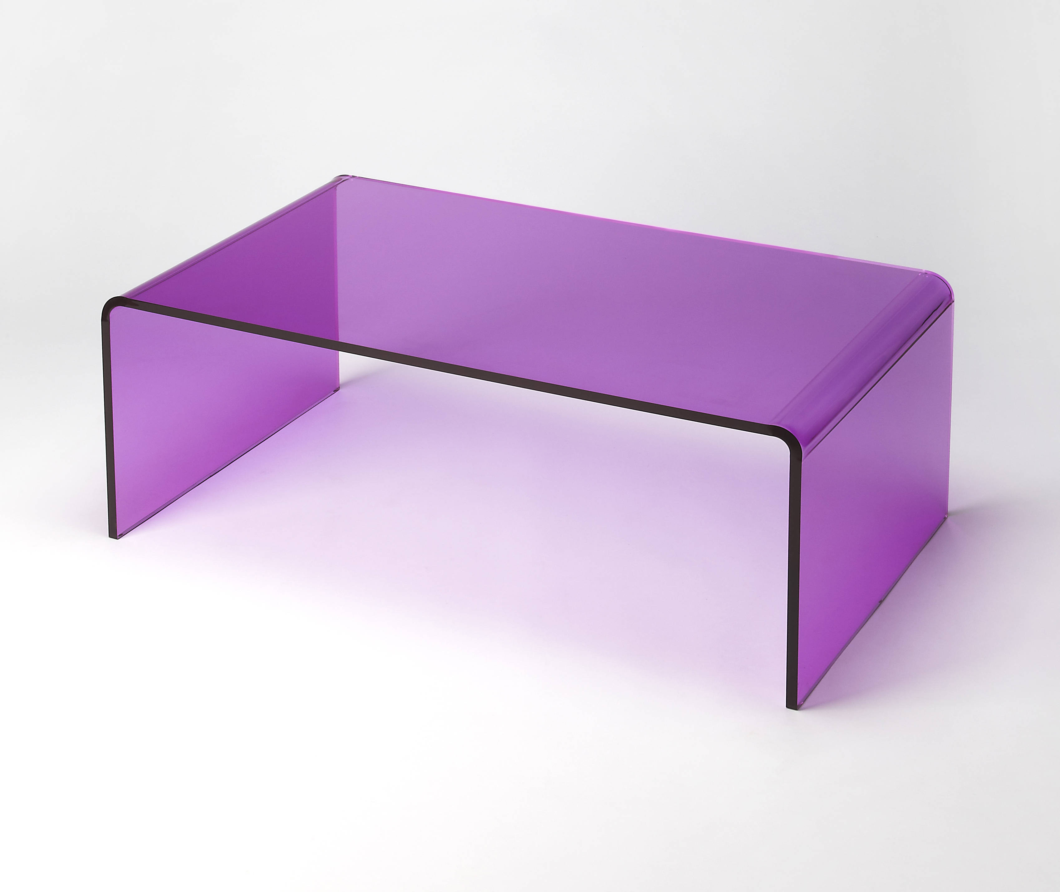 Remarkable Butler Loft Crystal Modern Purple Acrylic Cocktail Table Theyellowbook Wood Chair Design Ideas Theyellowbookinfo