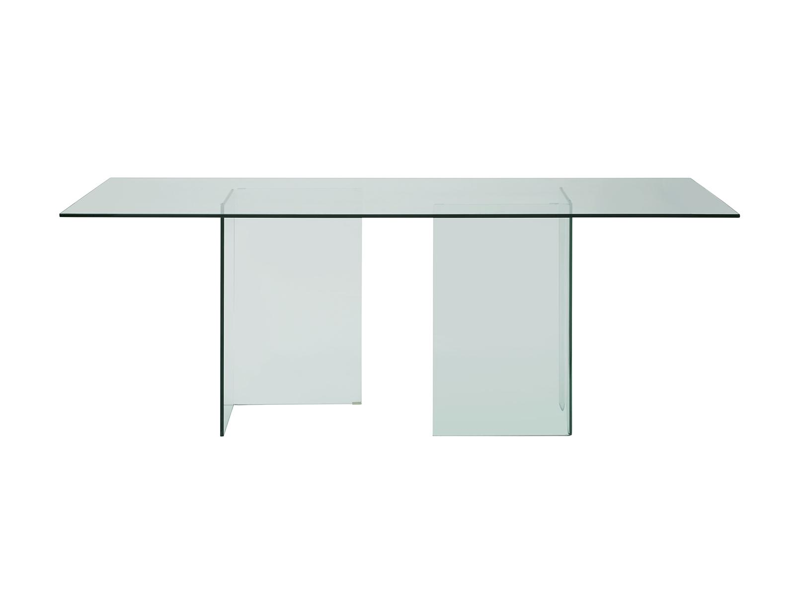 Swell Casabianca Miami Modern Clear Glass Rectangle Dining Table Interior Design Ideas Philsoteloinfo