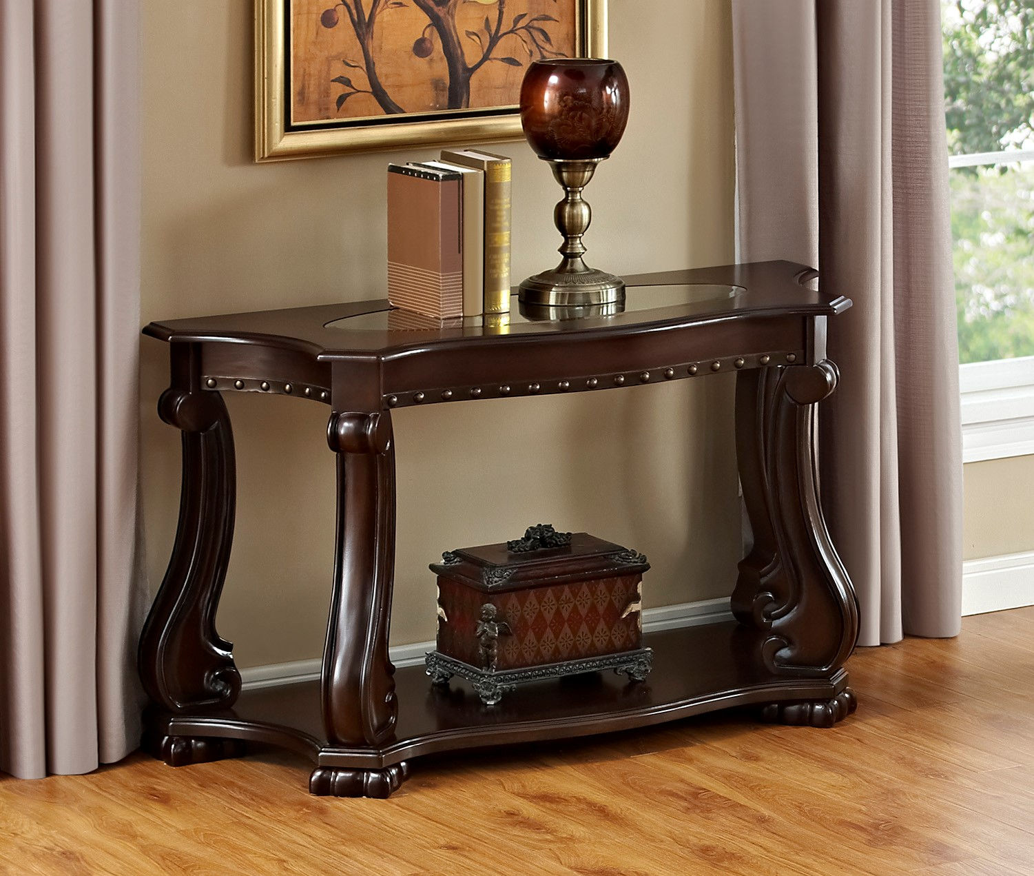 Wood Sofa Table Click To Enlarge