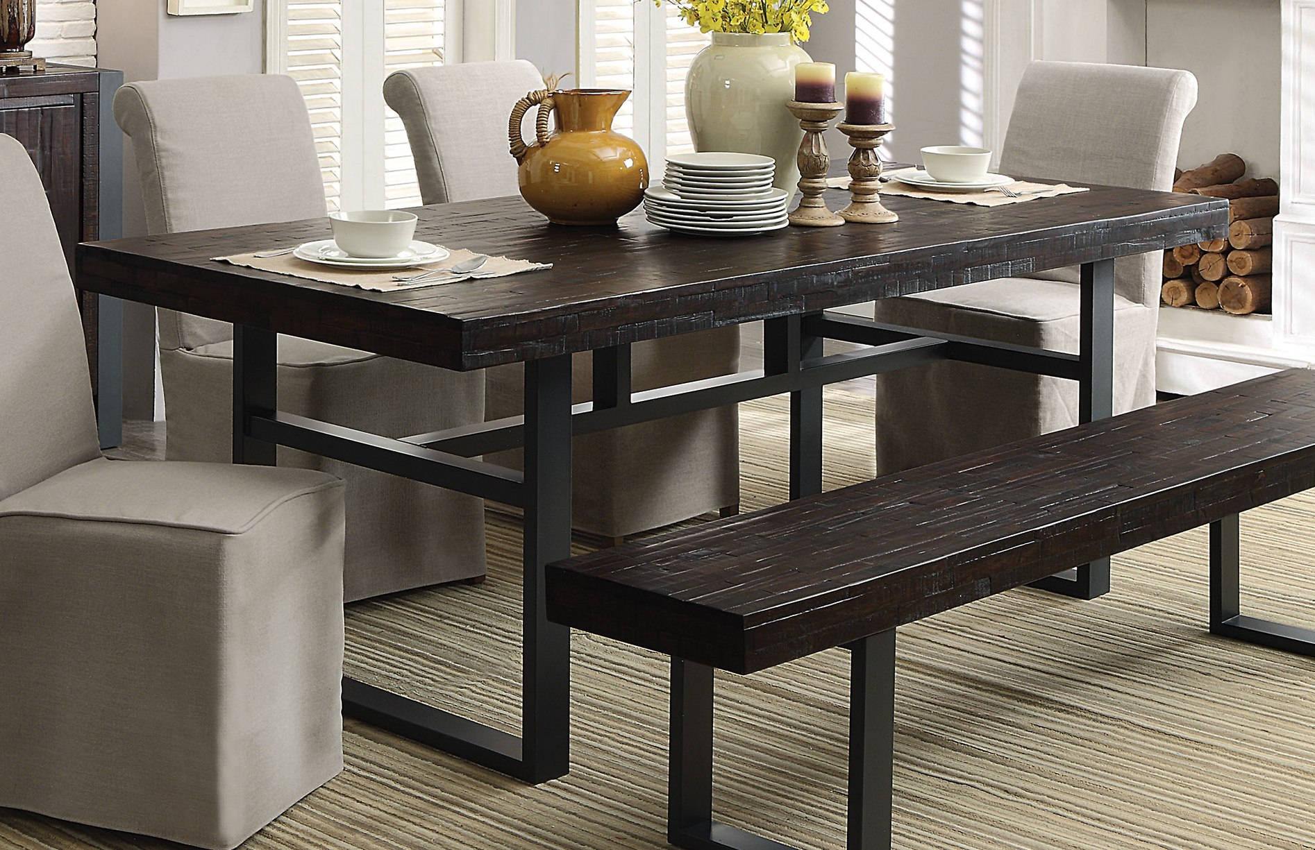 Coaster Furniture Keller Dining Table Click To