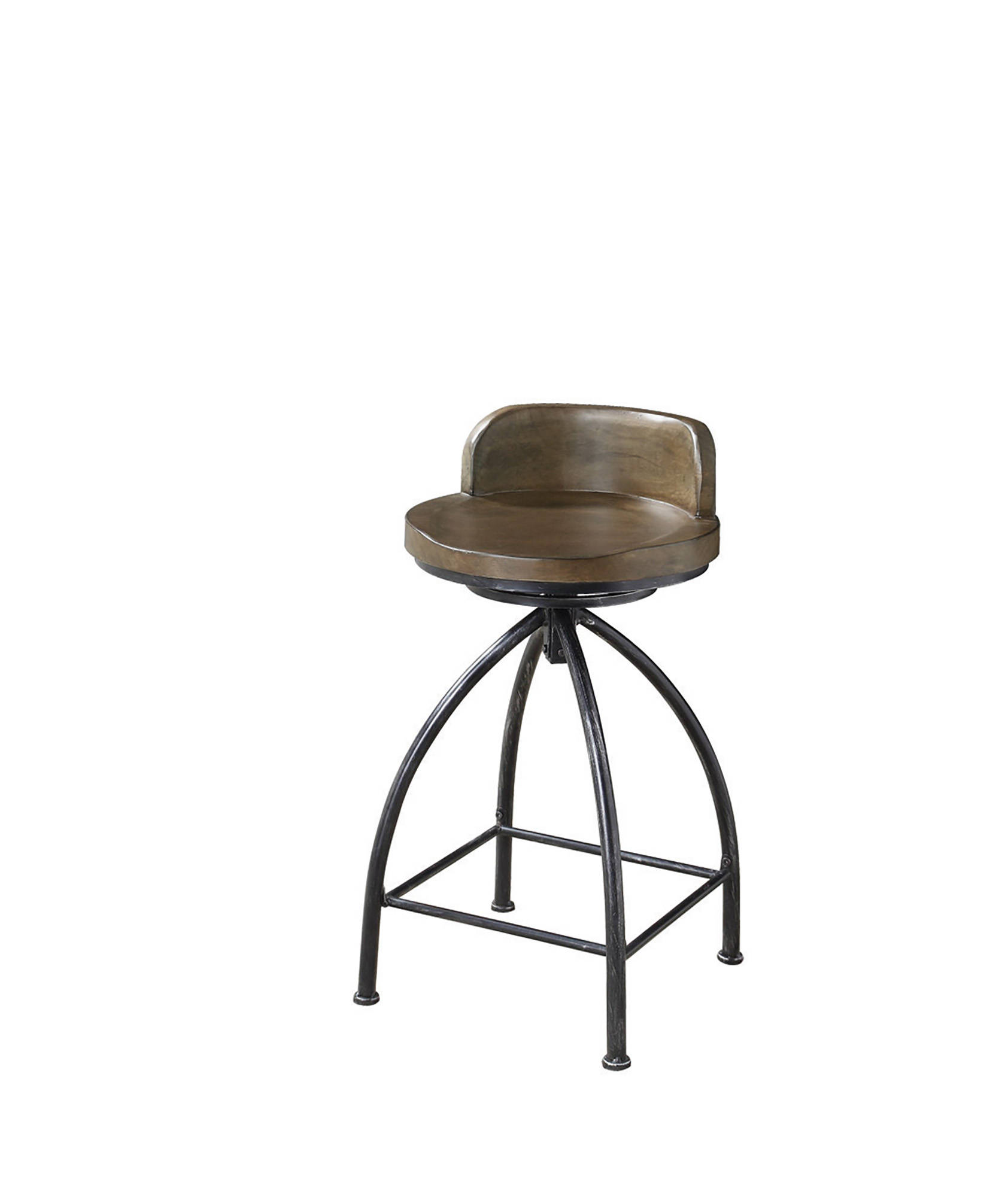 Peachy Coaster Furniture Cognac Solidwood Swivel Bar Stool Gmtry Best Dining Table And Chair Ideas Images Gmtryco