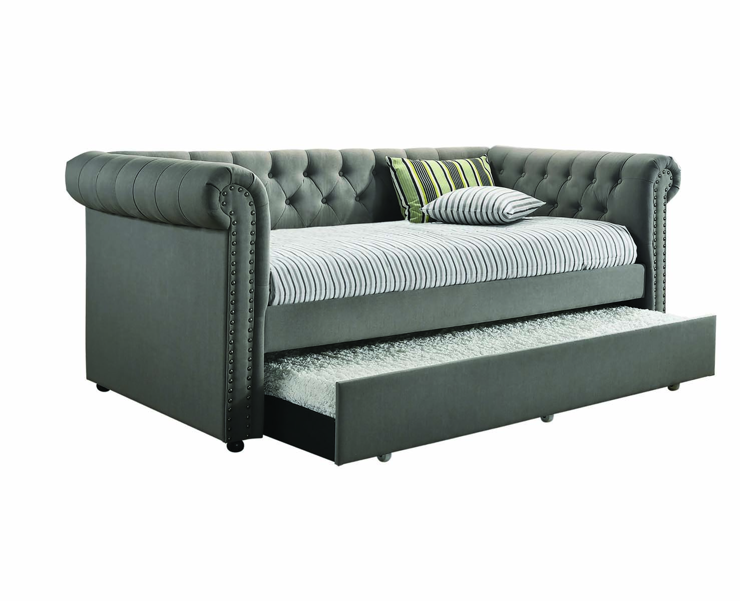 Coaster Furniture Kepner Grey Twin Daybed With Trundle