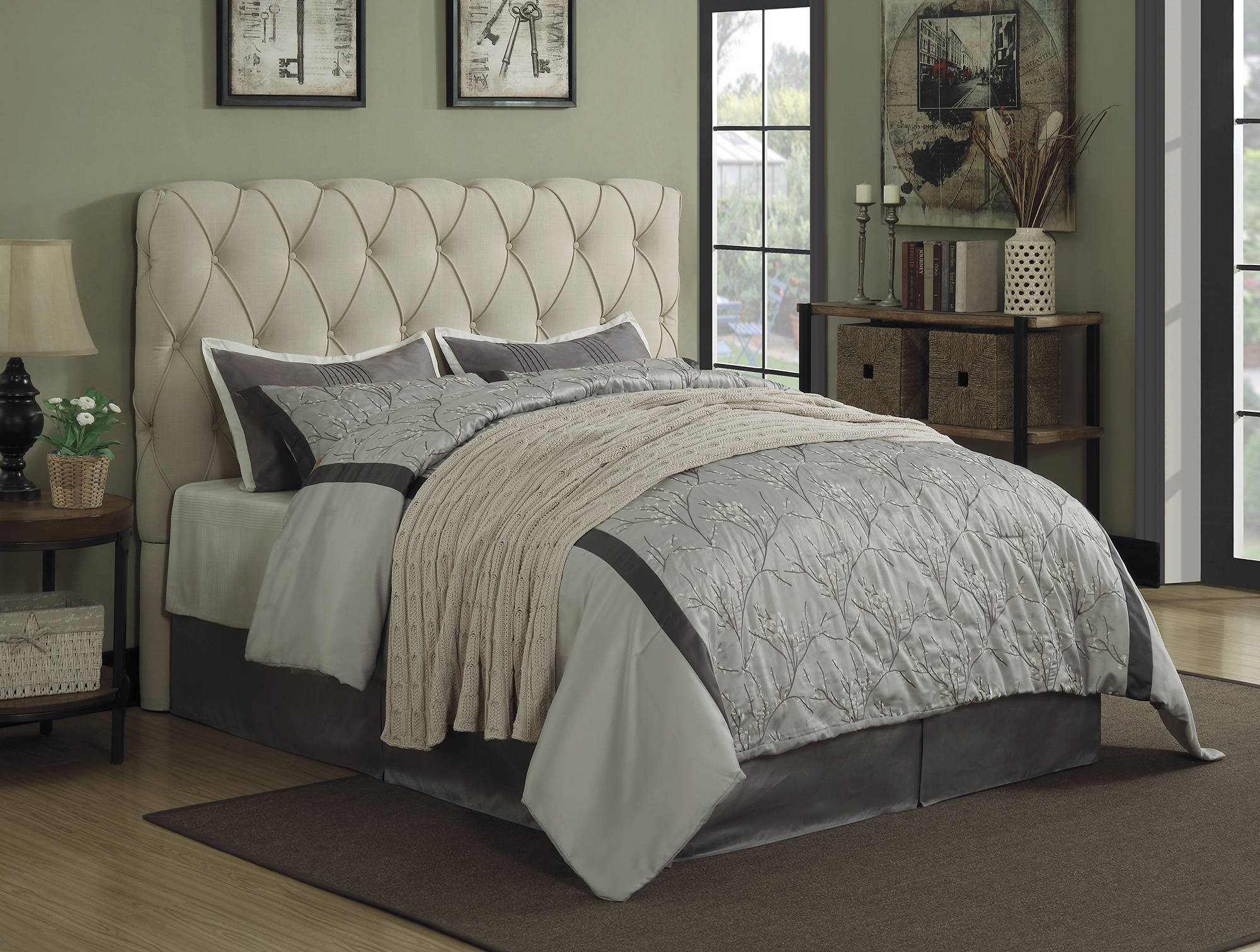 Elsinore Twin Headboard With Frame