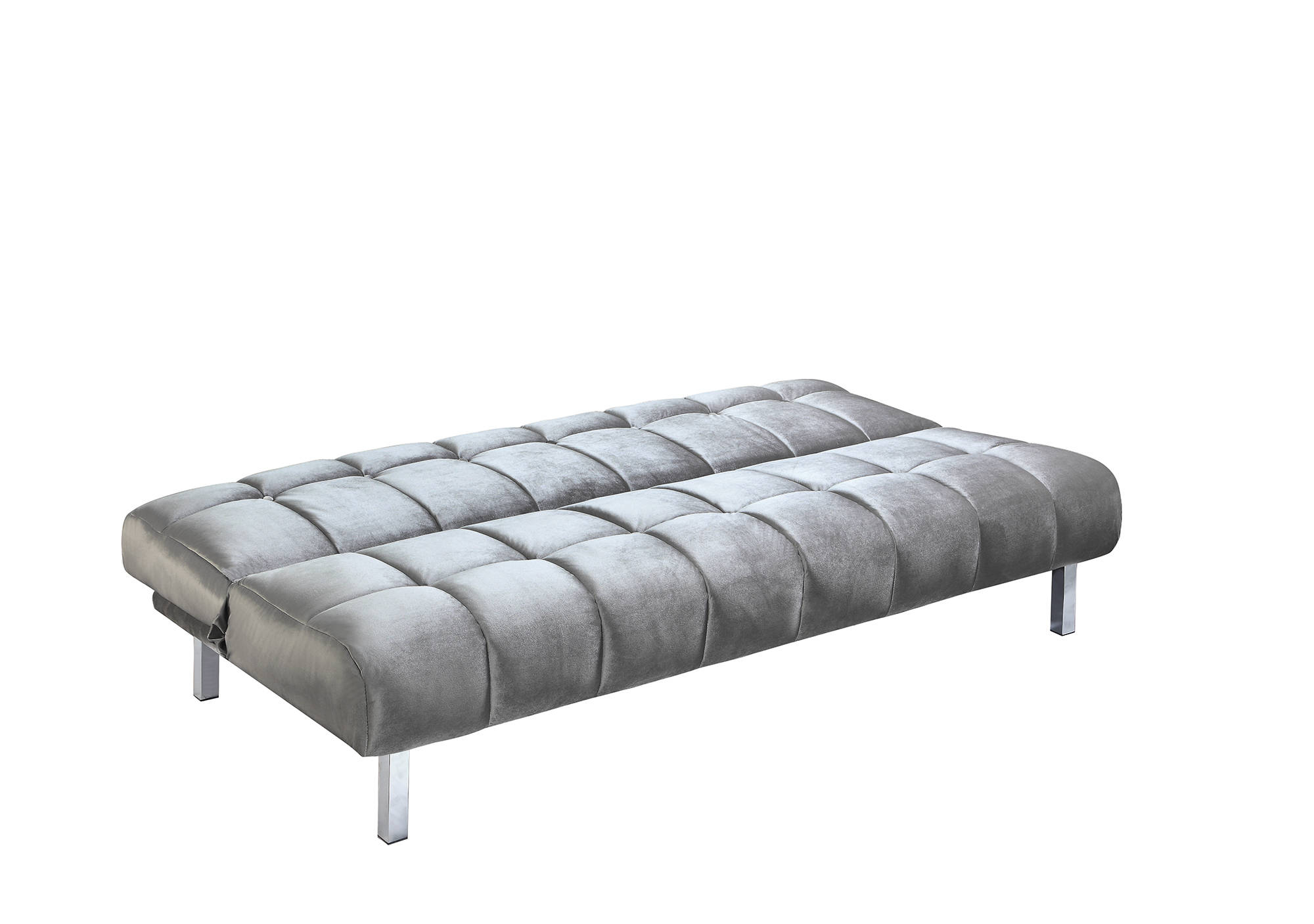 Surprising Coaster Furniture Grey Velvet Cushion Tufted Sofa Bed Gamerscity Chair Design For Home Gamerscityorg