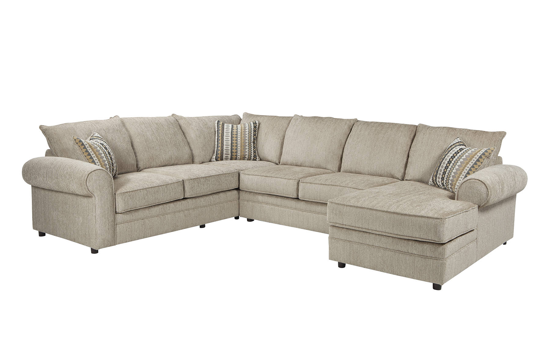 Coaster Furniture Fairhaven Cream Sectional | The Classy Home