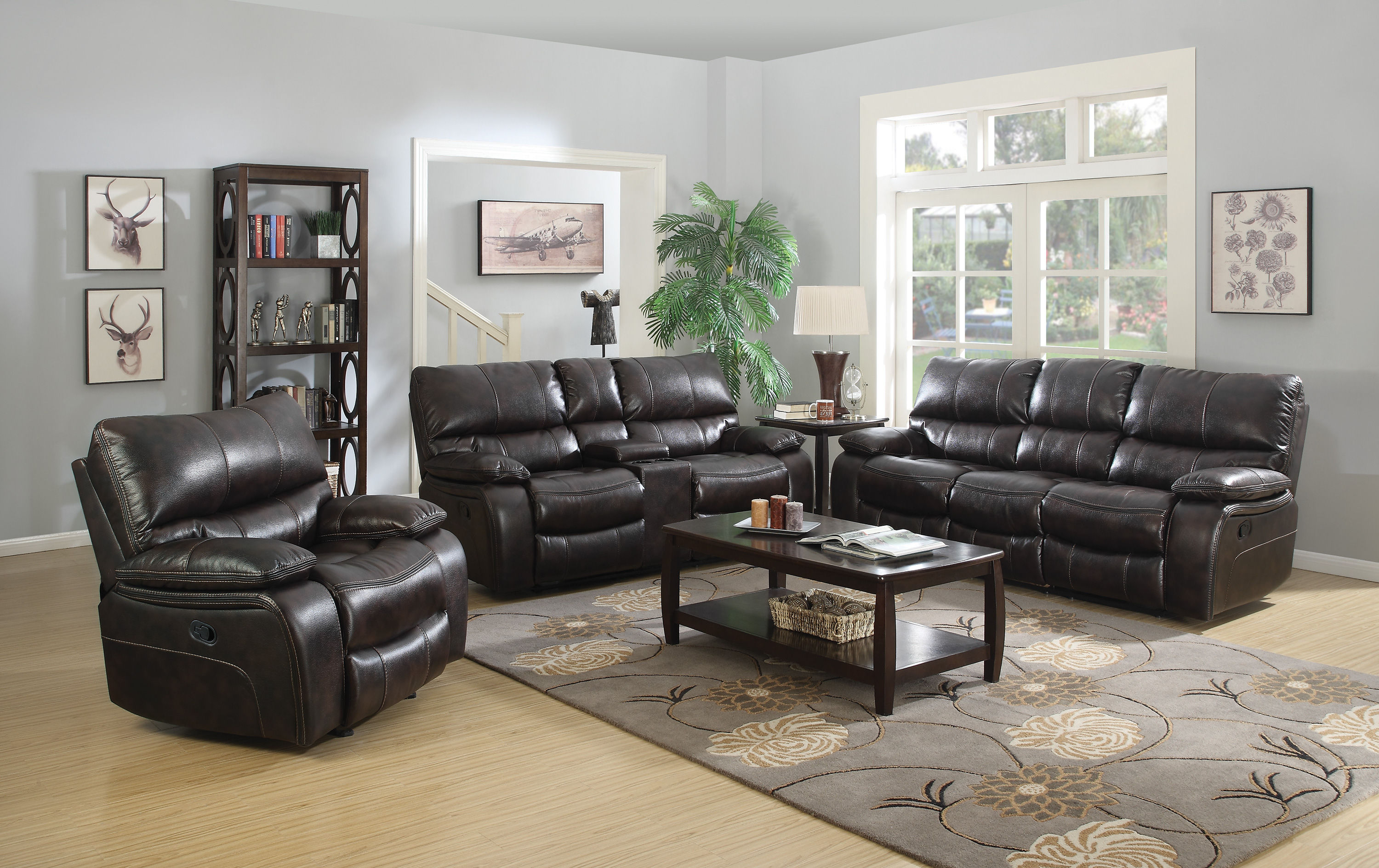 Coaster Furniture Willemse Motion Living Room Set The Classy Home