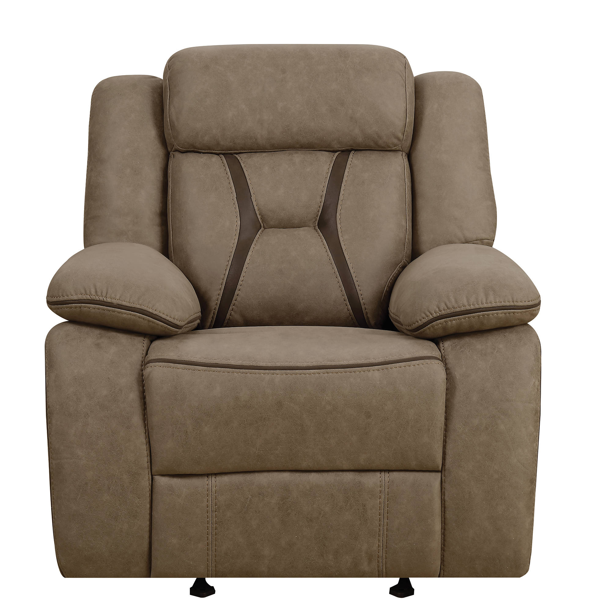 Superbe Coaster Furniture Houston Tan Glider Recliner Click To Enlarge ...