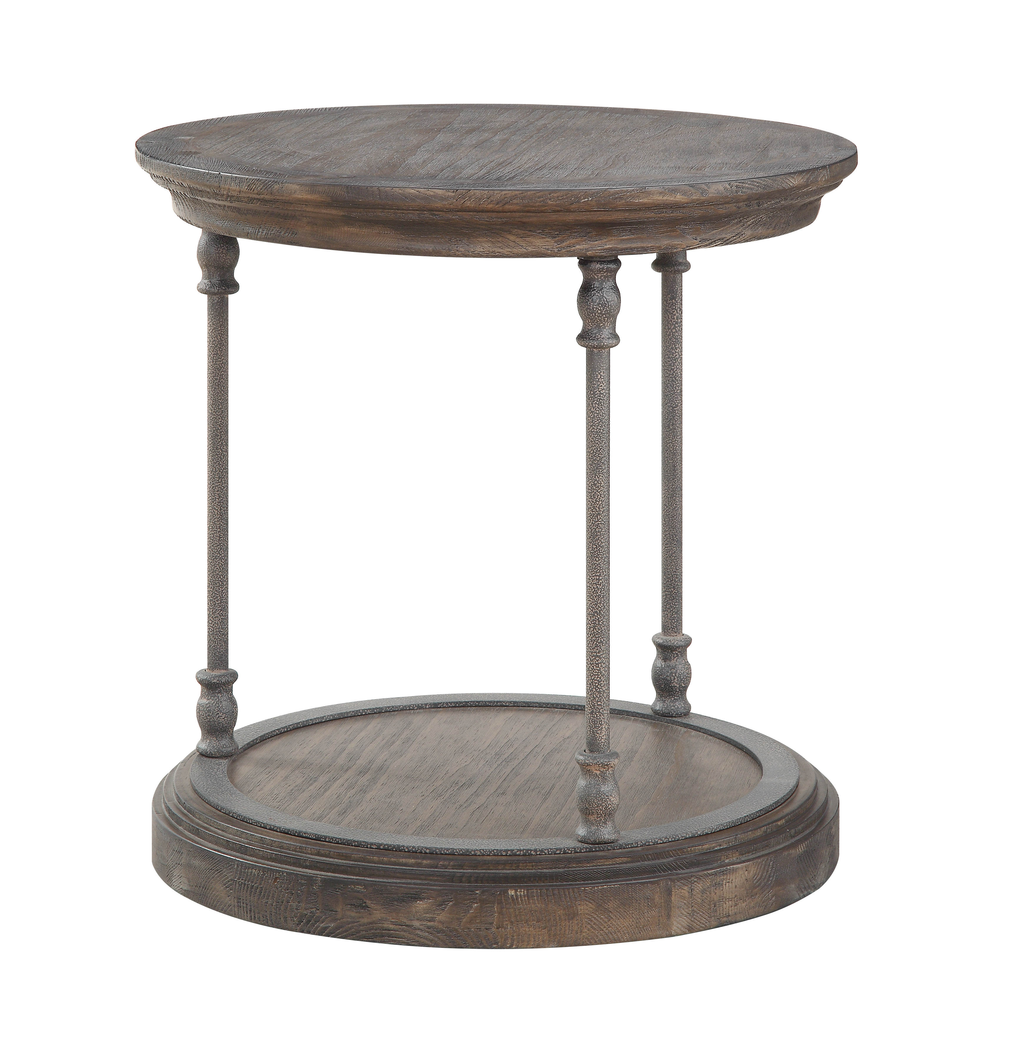 Sensational Coast To Coast Corbin Brown Round End Table Caraccident5 Cool Chair Designs And Ideas Caraccident5Info