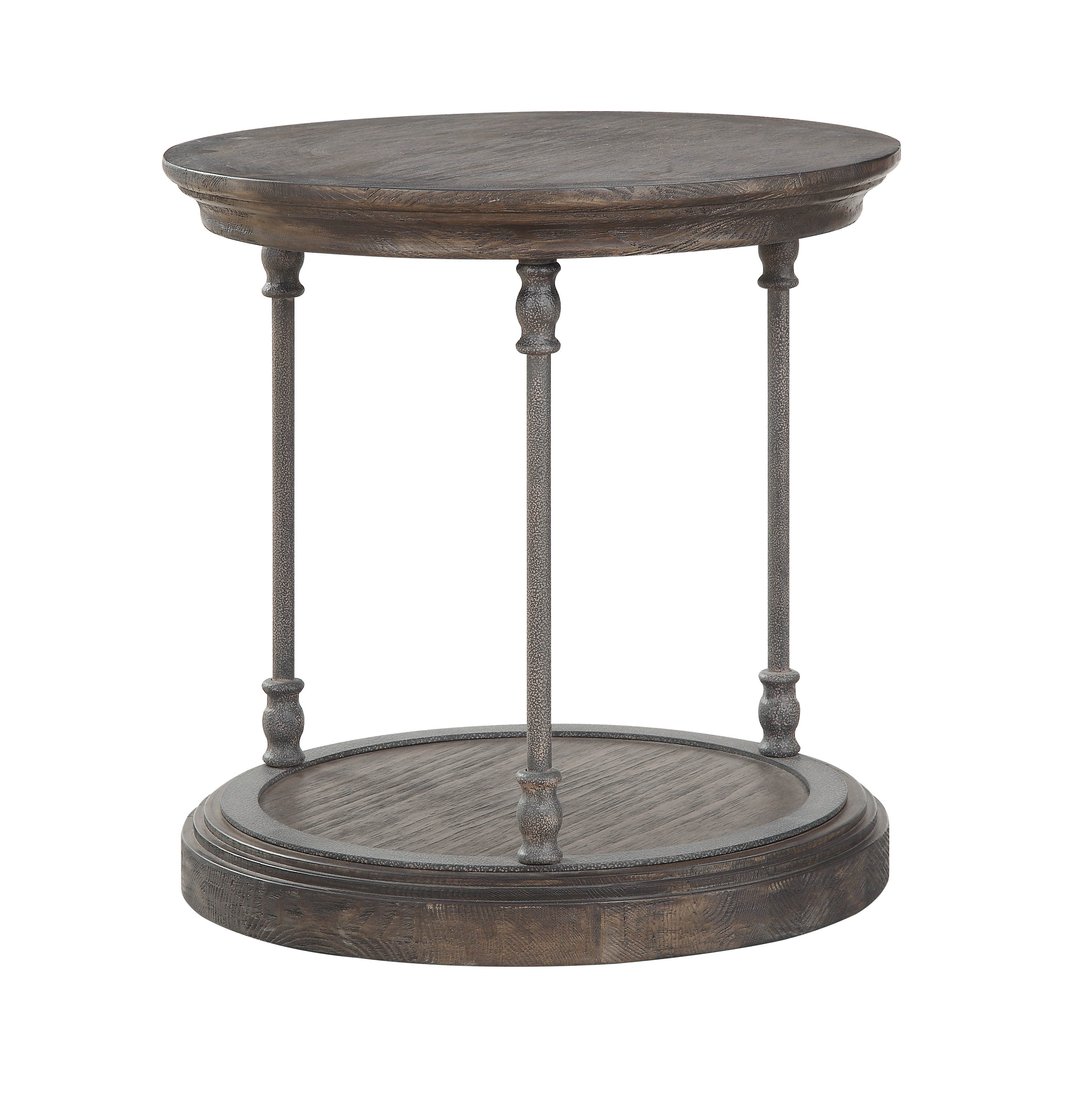 Prime Coast To Coast Corbin Brown Round End Table Caraccident5 Cool Chair Designs And Ideas Caraccident5Info