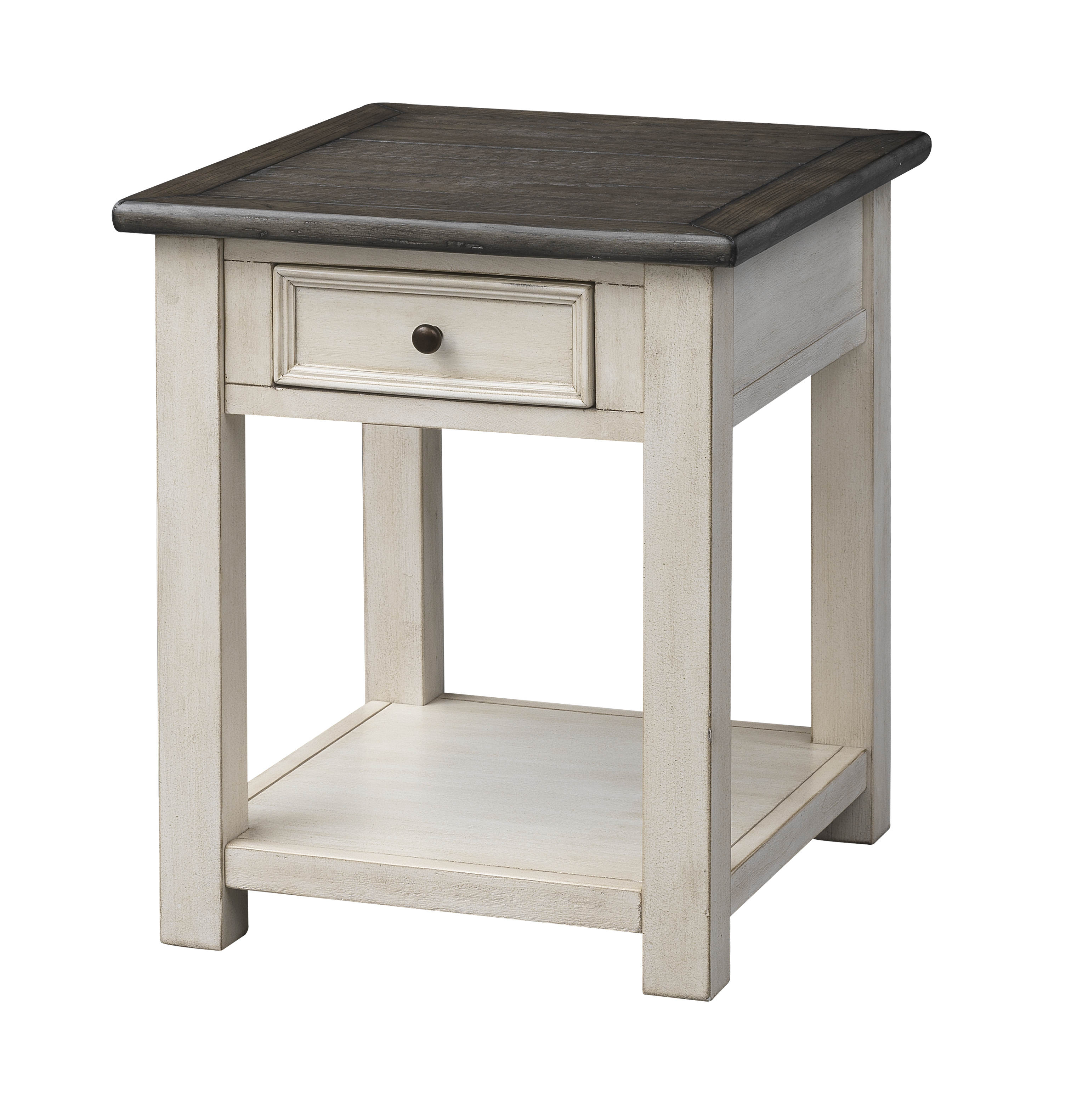 Pleasing Coast To Coast St Claire Ivory Cream End Table Caraccident5 Cool Chair Designs And Ideas Caraccident5Info