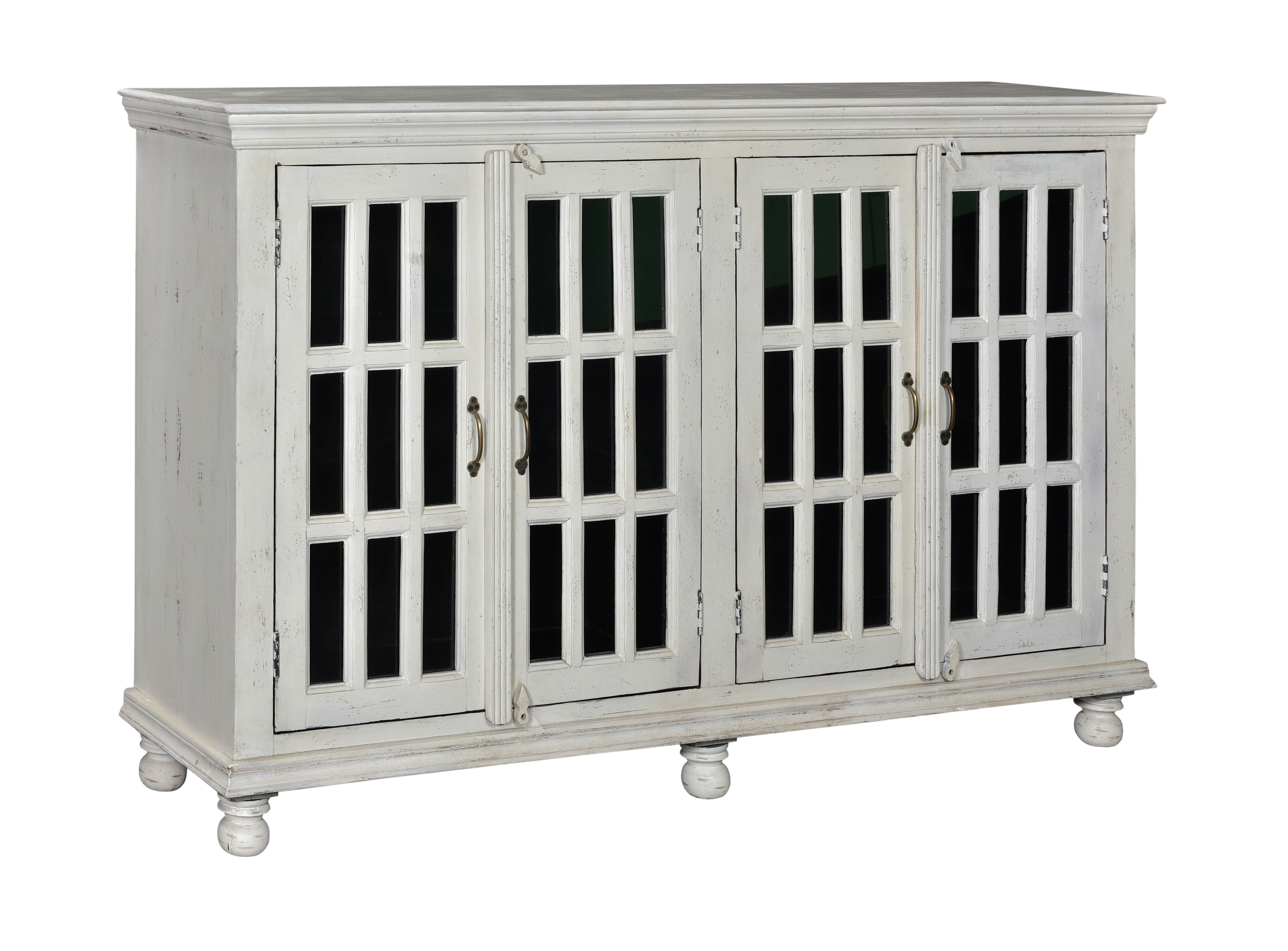 Coast to Coast White Media Credenza