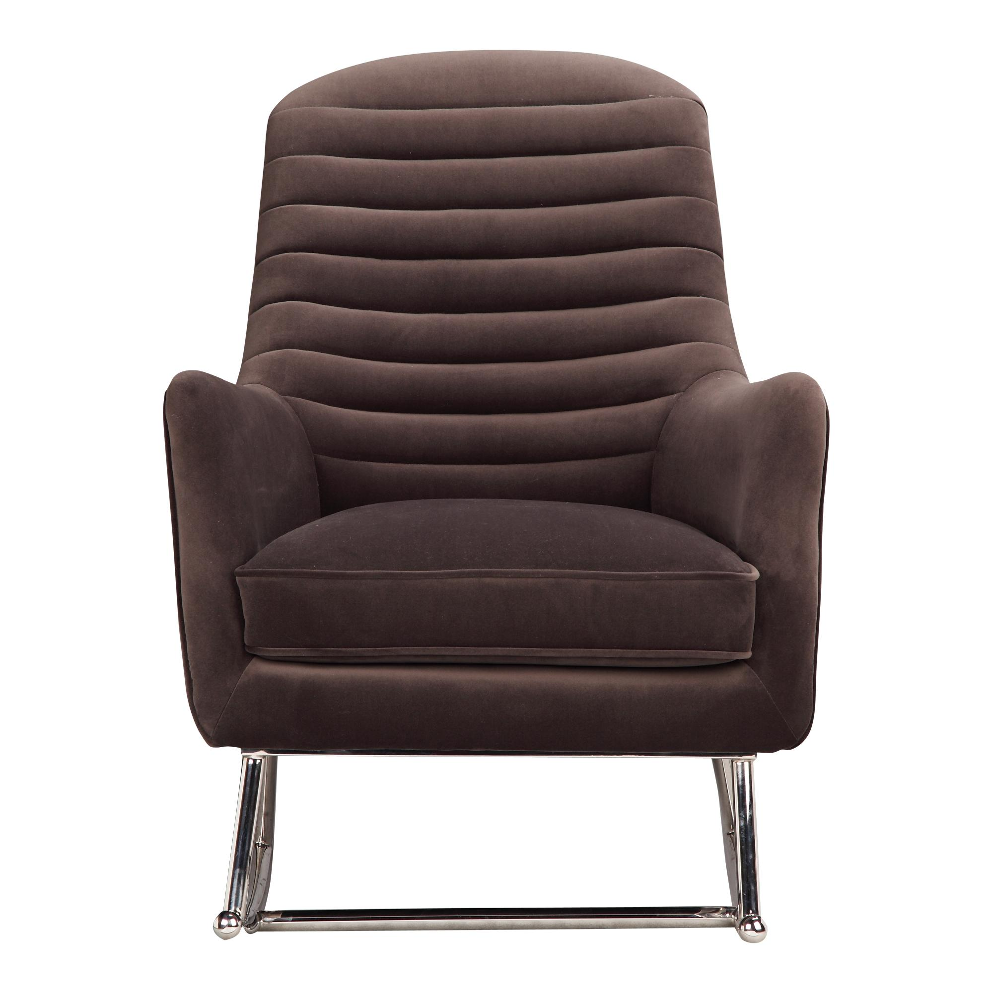 Phenomenal Moes Home Lars Grey Fabric Rocking Chair Caraccident5 Cool Chair Designs And Ideas Caraccident5Info
