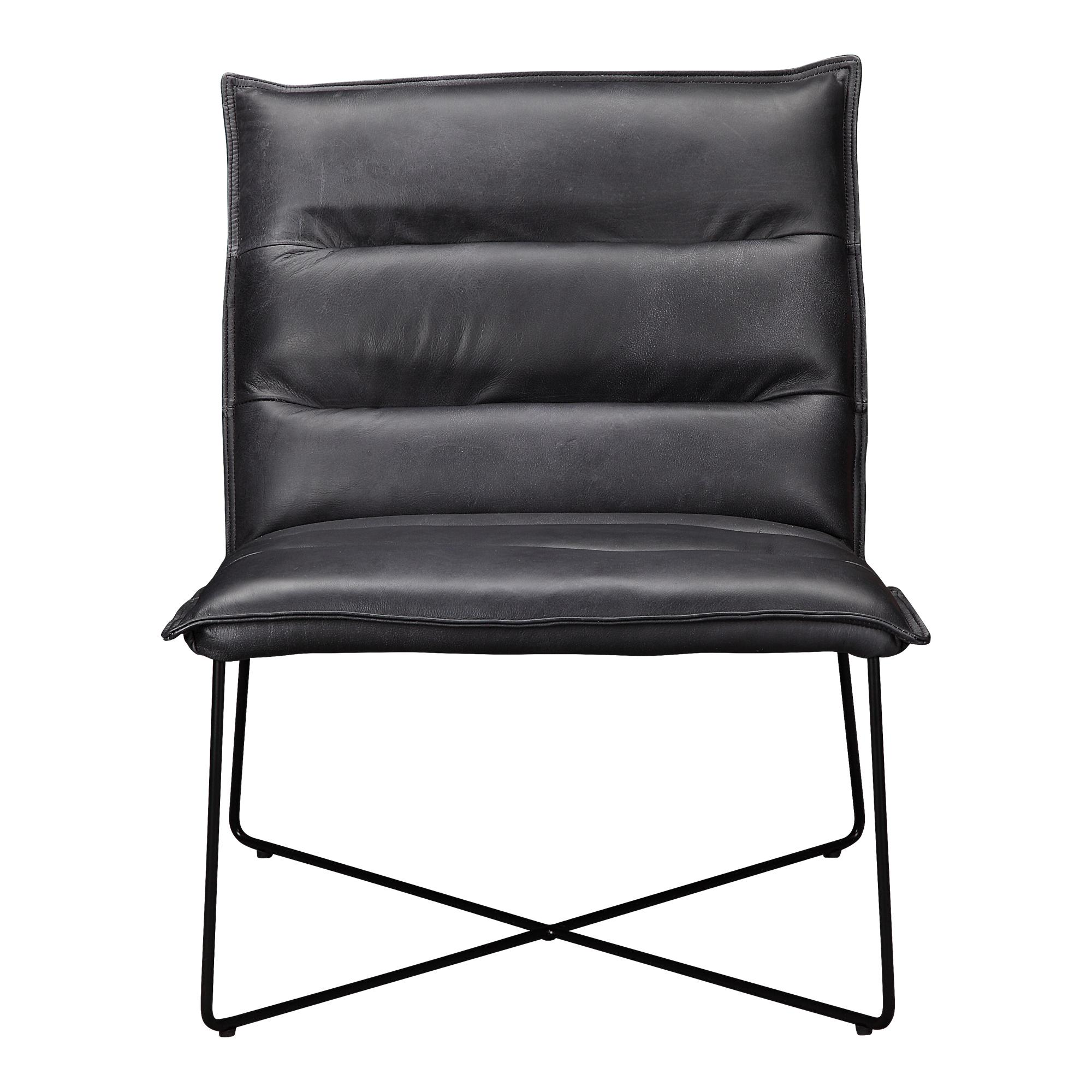 ... Leather Modern Armless Chair Click To Enlarge ...
