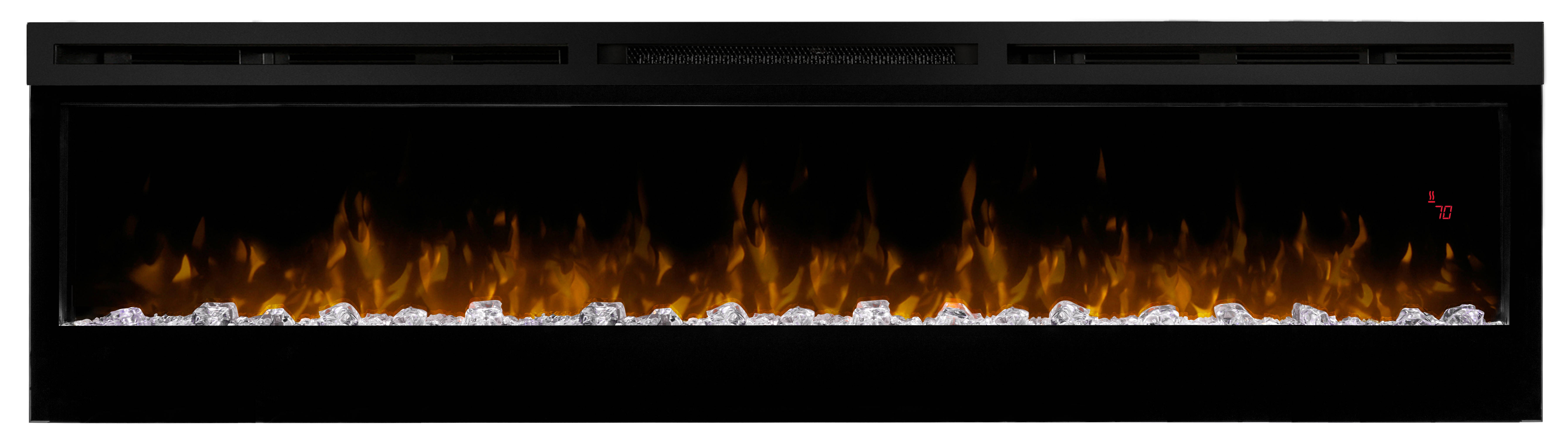 Dimplex prism black 74 inch electric fireplace wall - Going to bed with embers in fireplace ...