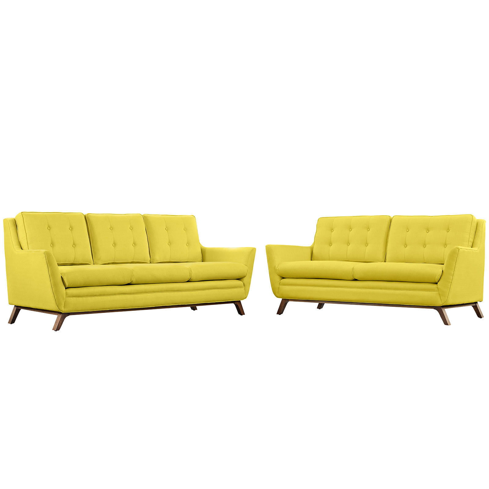 Modway Furniture Beguile Sunny 2pc Living Room Set | The Classy Home