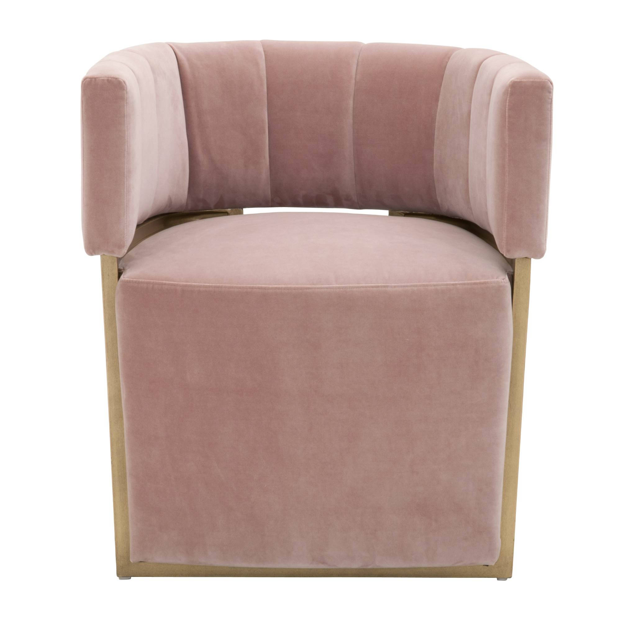 Blush Pink Accent Chairs.Essentials For Living Nova Blush Pink Accent Chair The Classy Home
