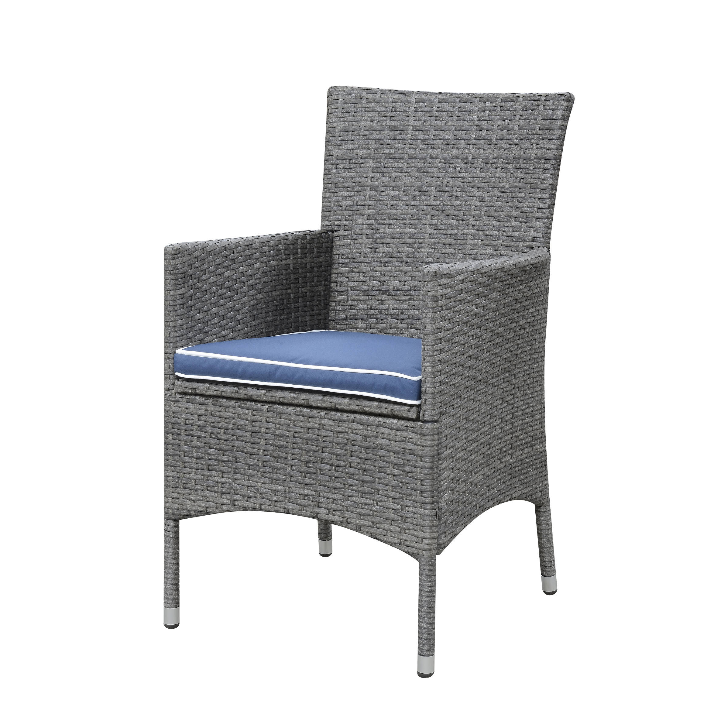 Emerald Home Ridgemonte Gray Outdoor Dining Arm Chair The Cly