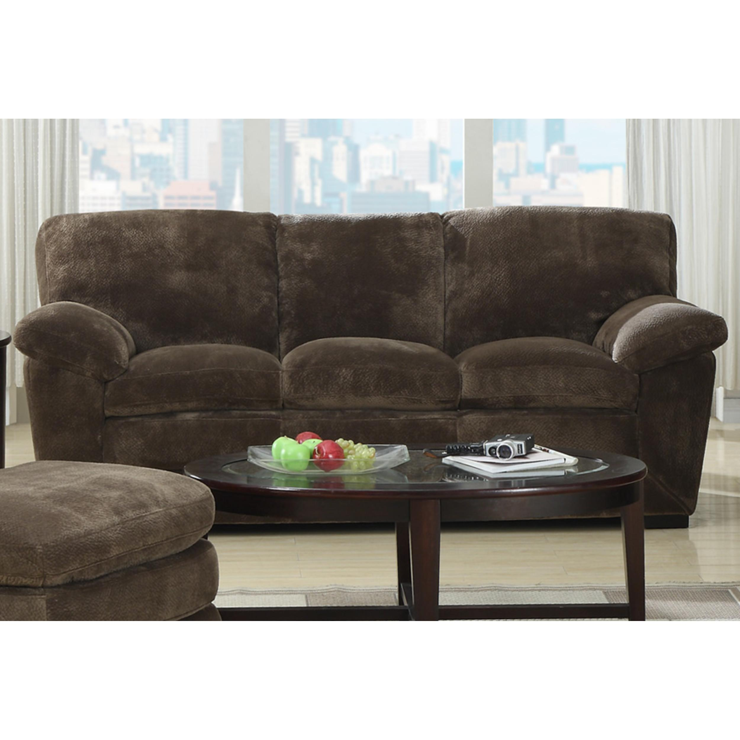 Emerald Home Devon Mocha Fabric Sofa