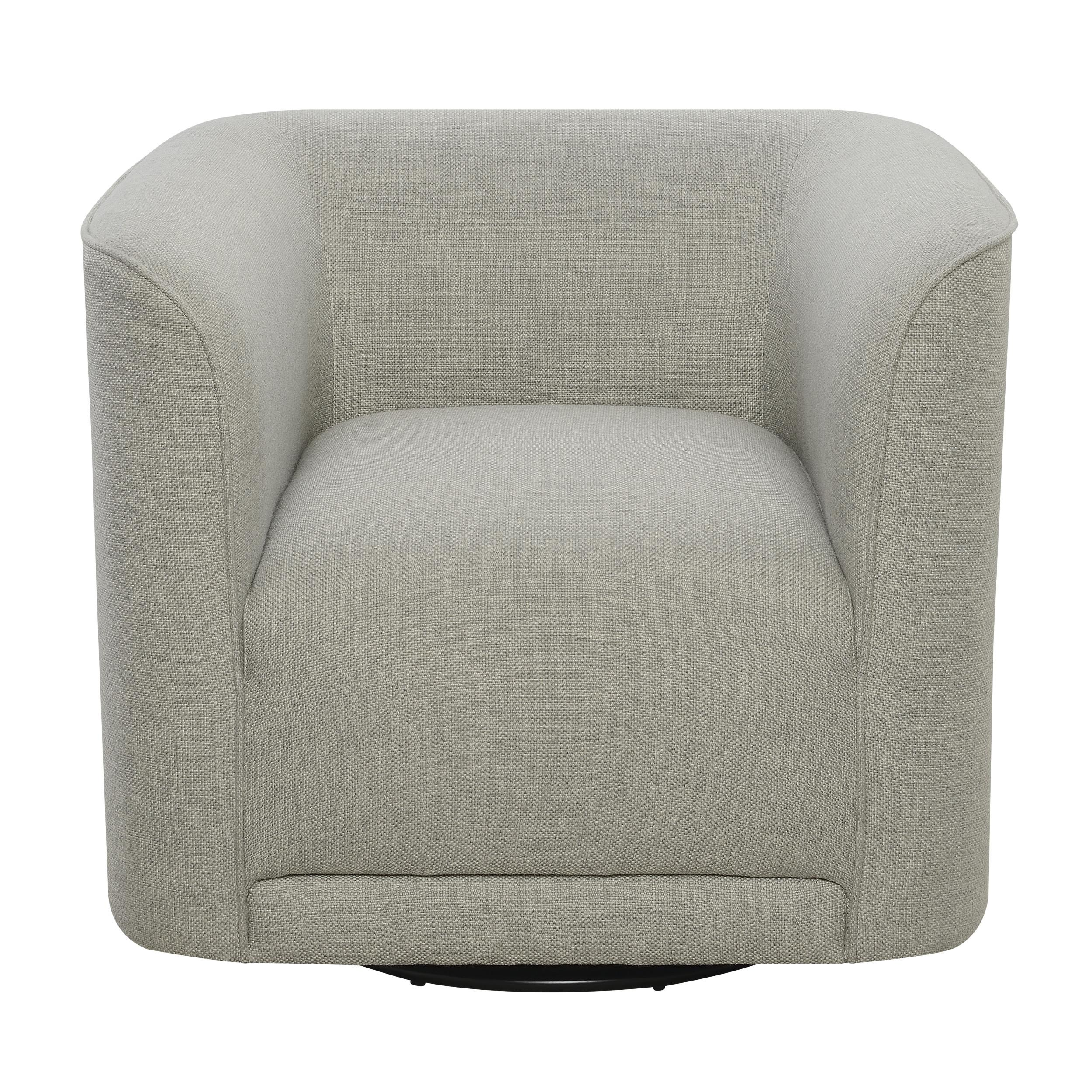 Super Emerald Home Whirlaway Parchment Gray Fabric Accent Chair Andrewgaddart Wooden Chair Designs For Living Room Andrewgaddartcom