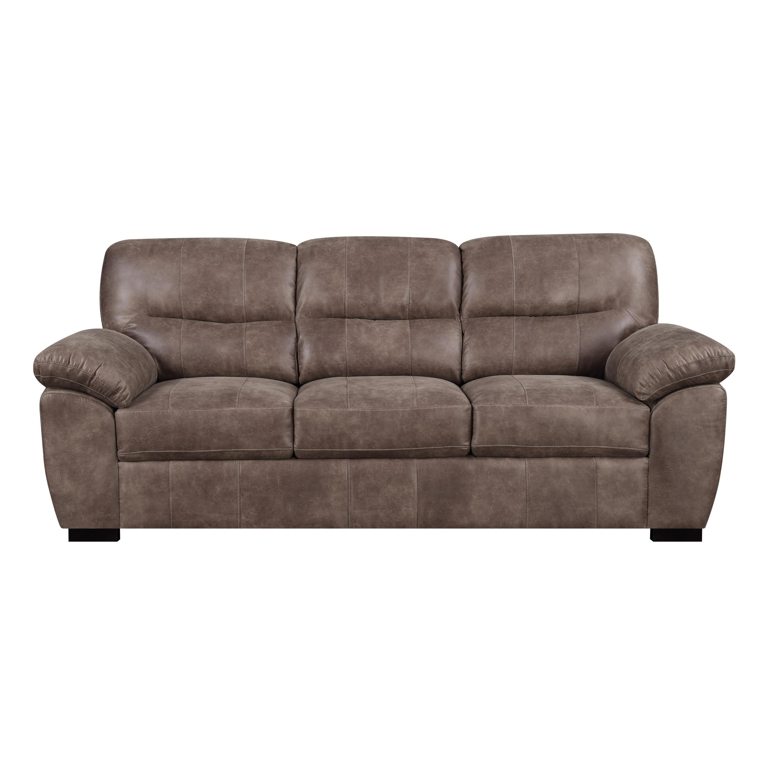 Nelson Almond Brown Fabric Sofa