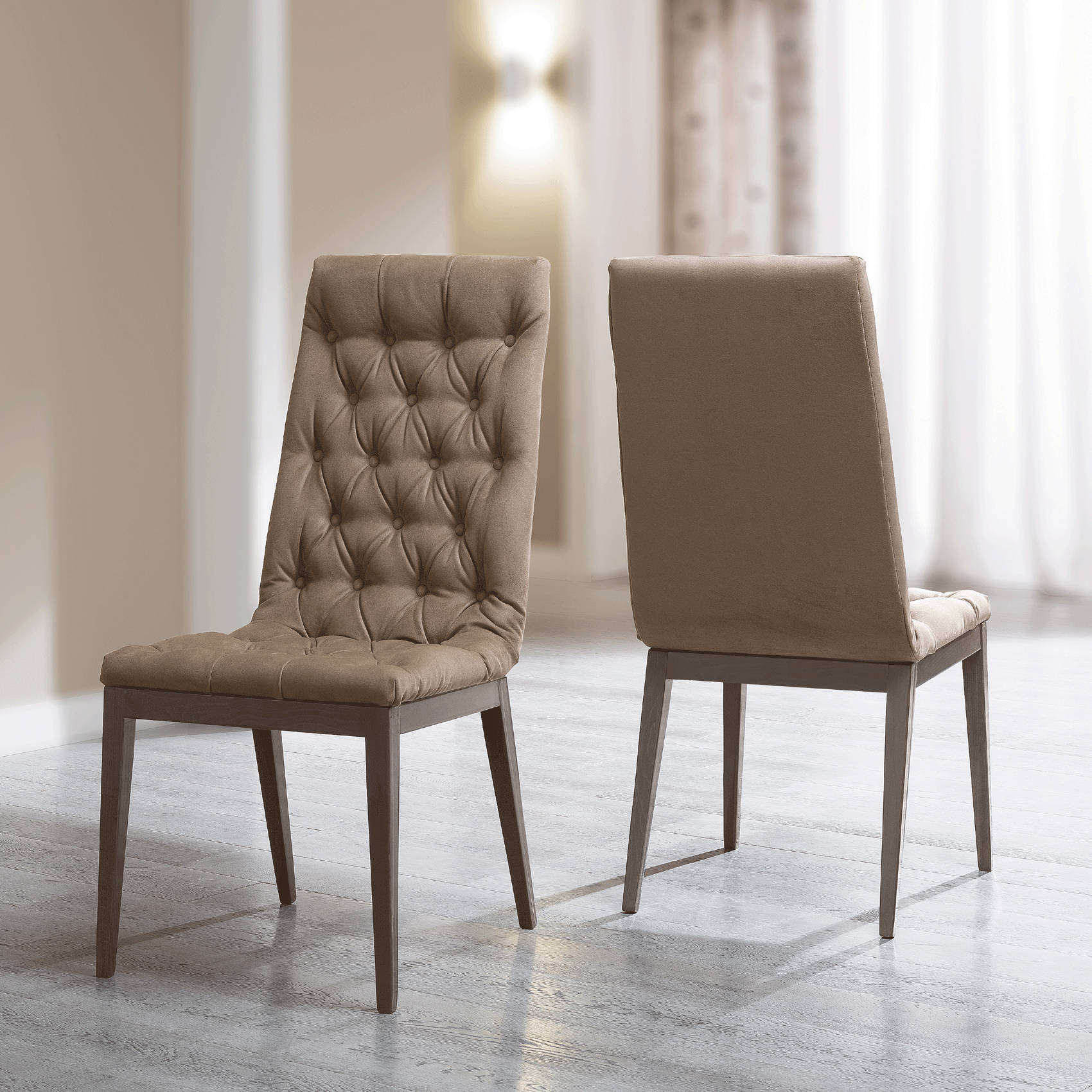 2 Esf Camelgroup Italy Elite Side Chairs The Classy Home