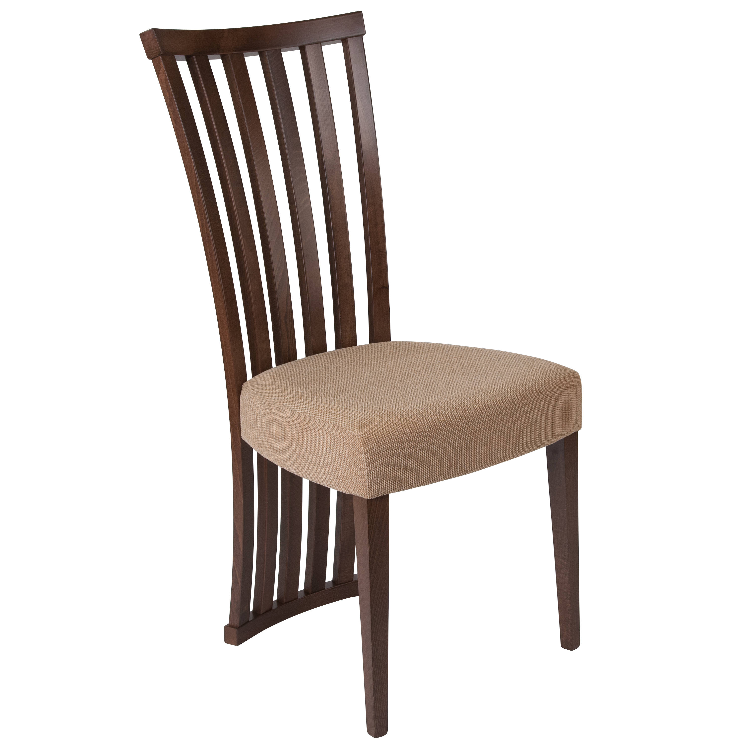 Flash Furniture Medford Walnut Dining Chair The Classy Home