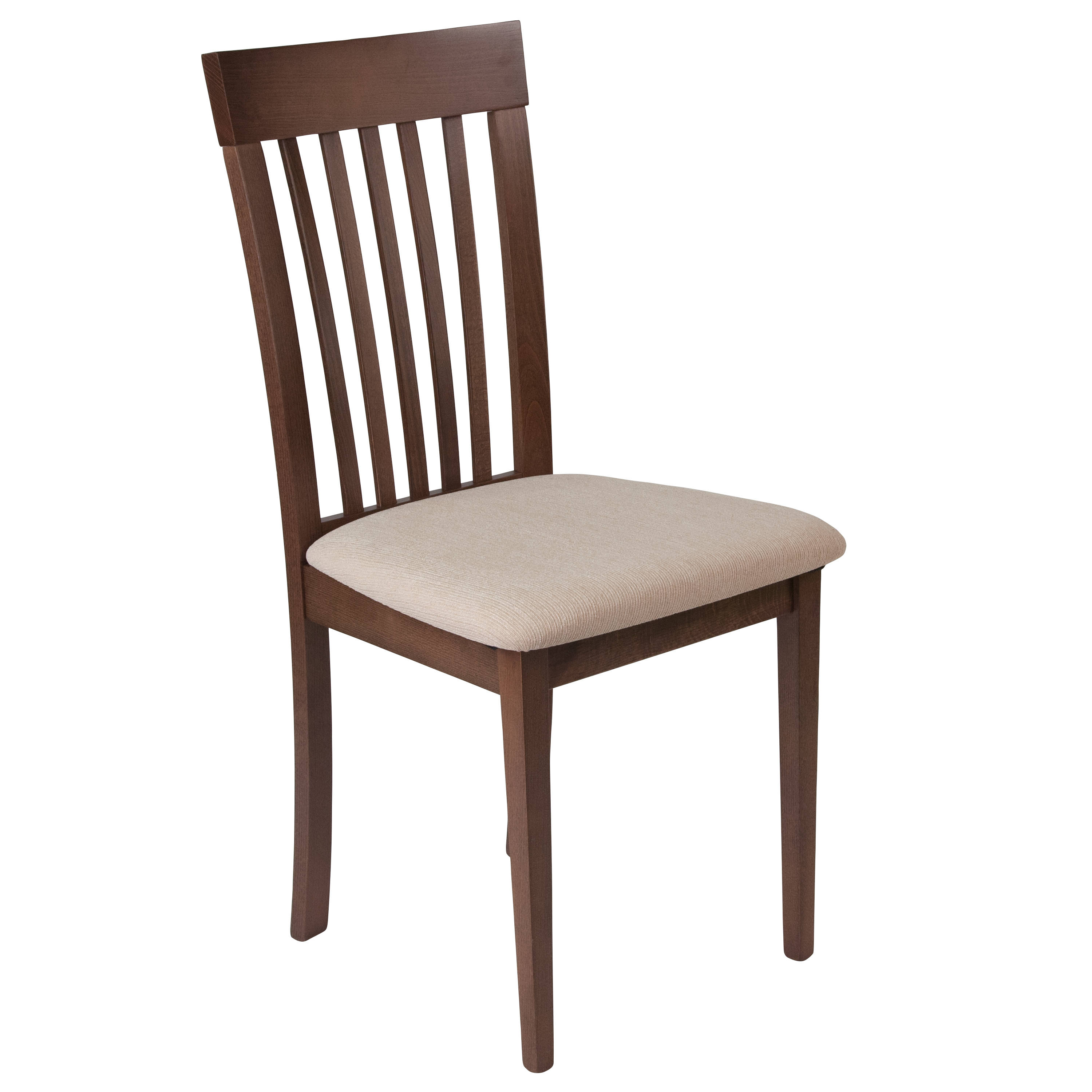 Flash Furniture Wellington Walnut Dining Chair The Classy Home