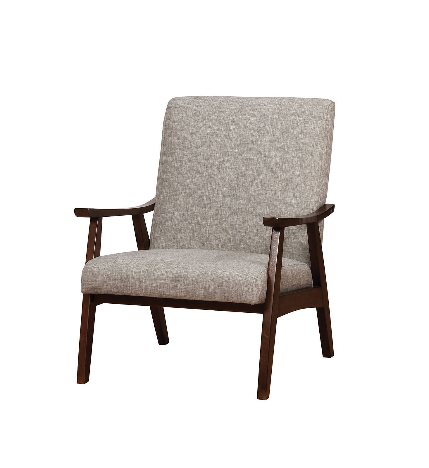 America Accent Chairs.Furniture Of America Deena Light Gray Accent Chair