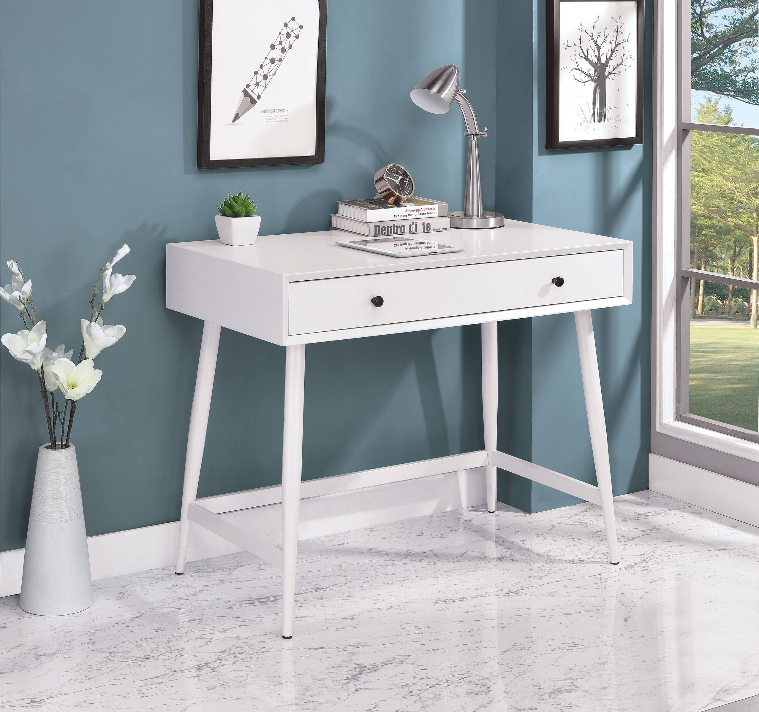Furniture Of America Frisco Writing Desk Click To Enlarge ...