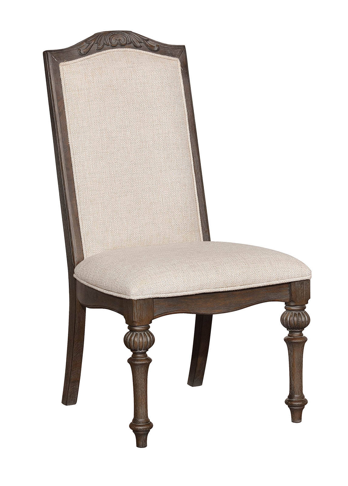2 Furniture Of America Arcadia Ivory Side Chairs The Classy Home