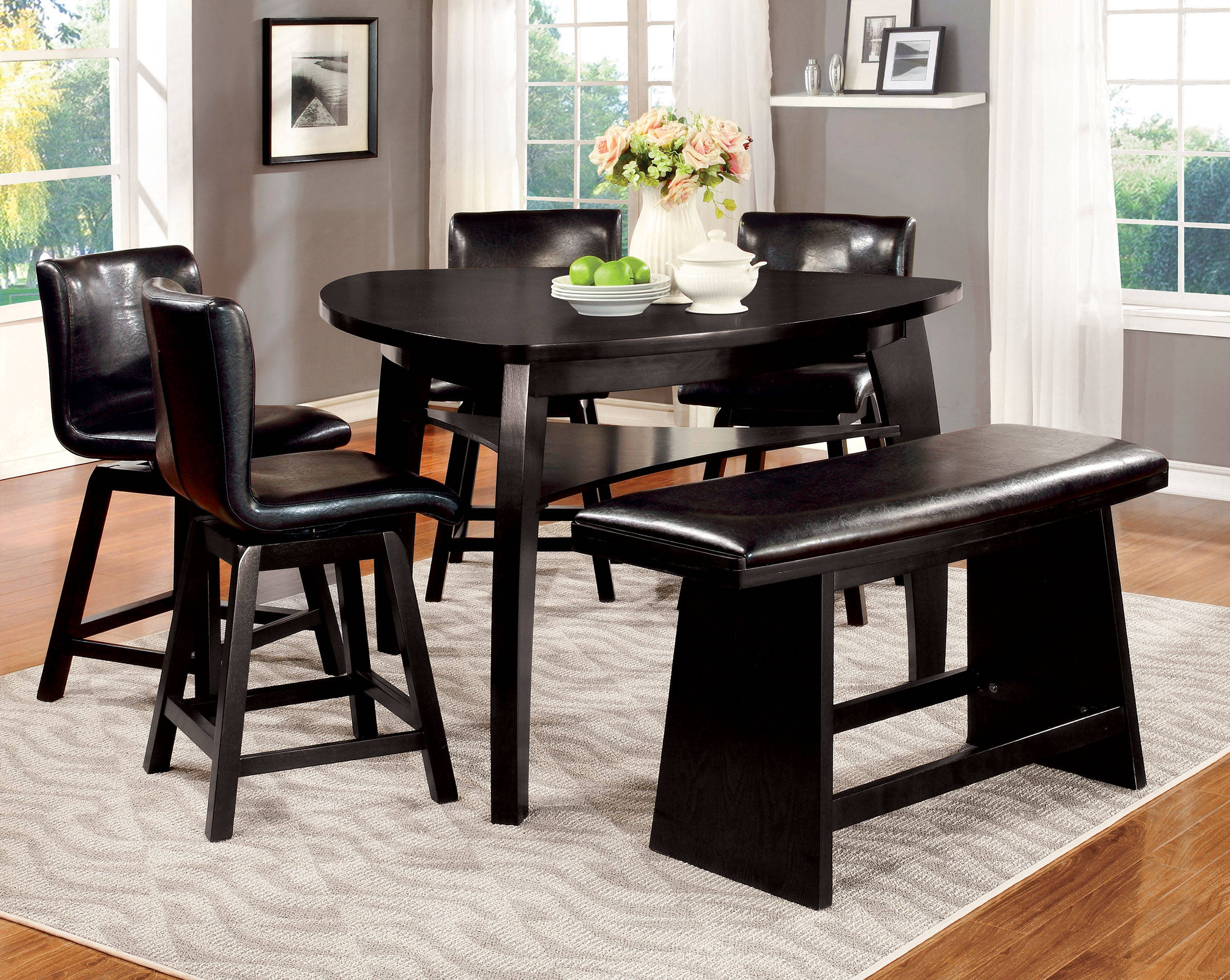 Furniture of America Hurley Counter Height Table