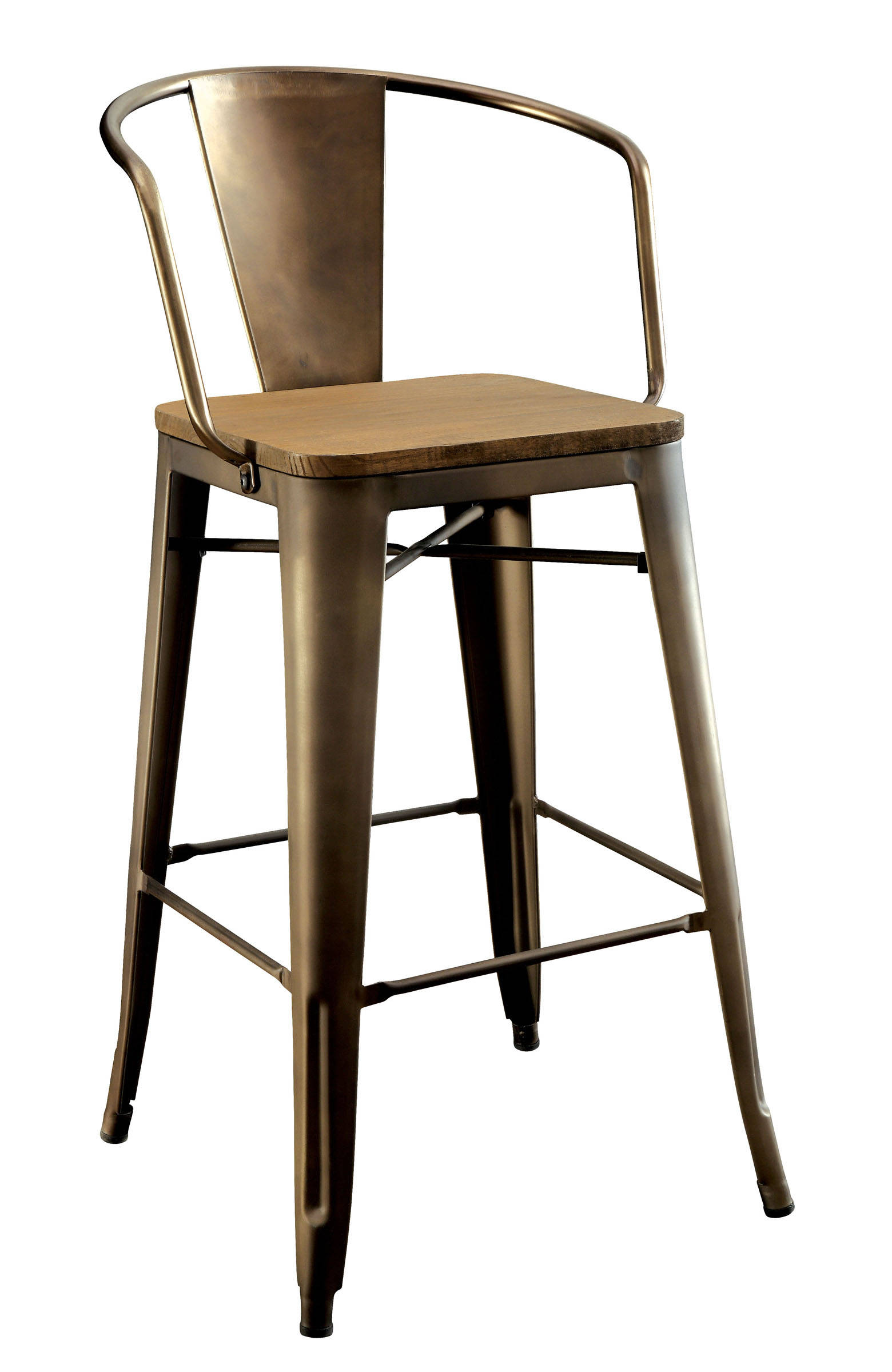 Peachy 2 Furniture Of America Cooper Ii Counter Height Chairs Gmtry Best Dining Table And Chair Ideas Images Gmtryco