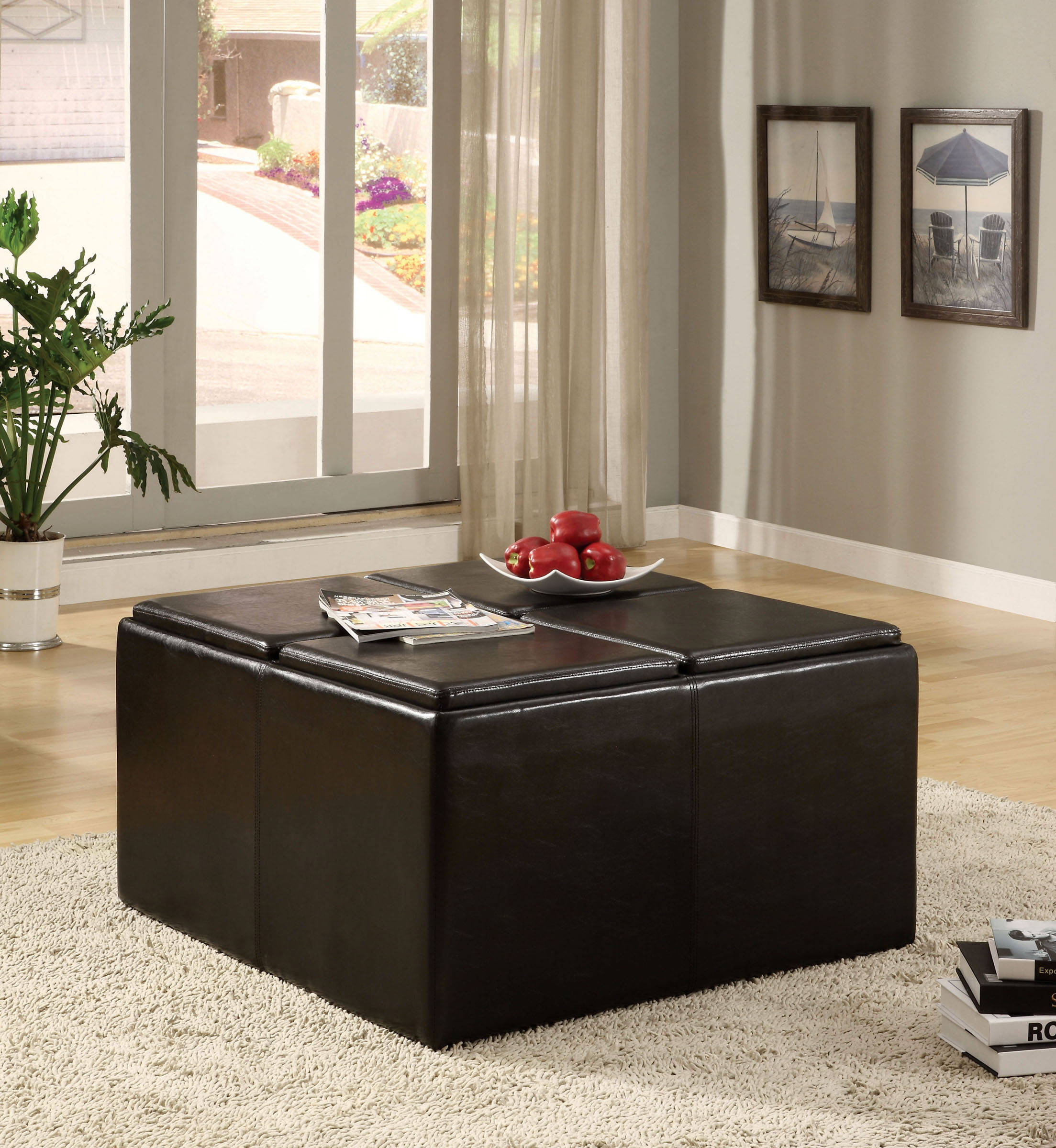 Fine Furniture Of America Holloway Tray Top Nested Ottomans Alphanode Cool Chair Designs And Ideas Alphanodeonline