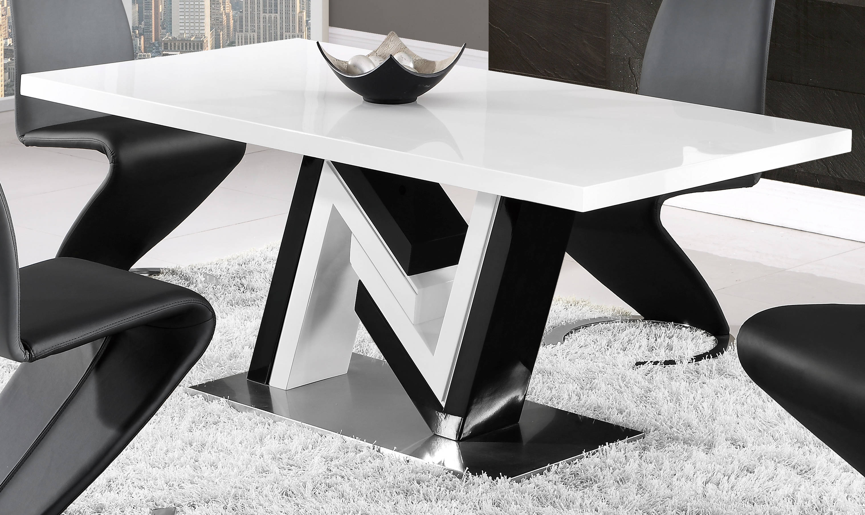 Global Furniture D4163 Dining Table Click To Enlarge