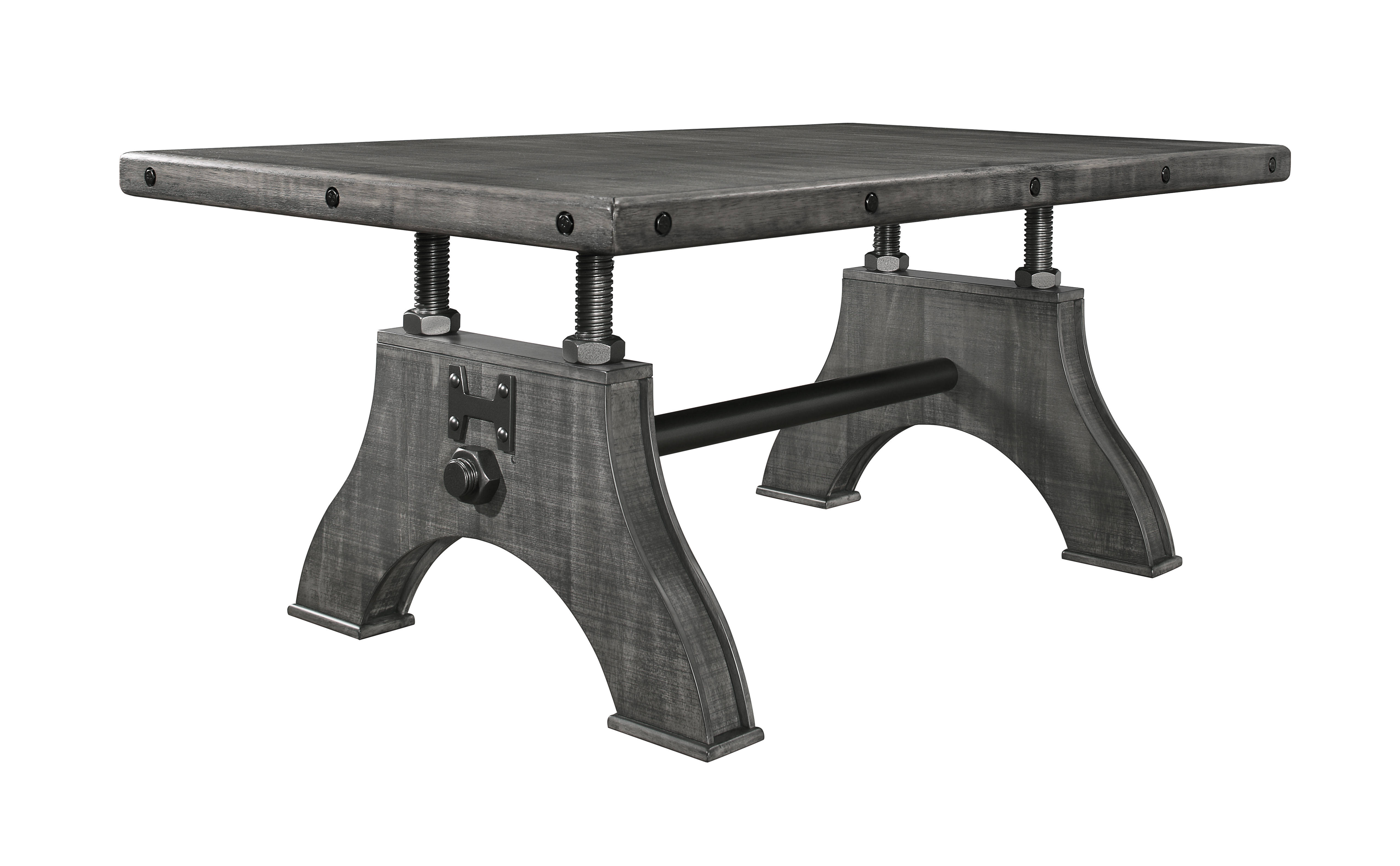 Global Furniture D855 Grey Dining Table The Cly Home