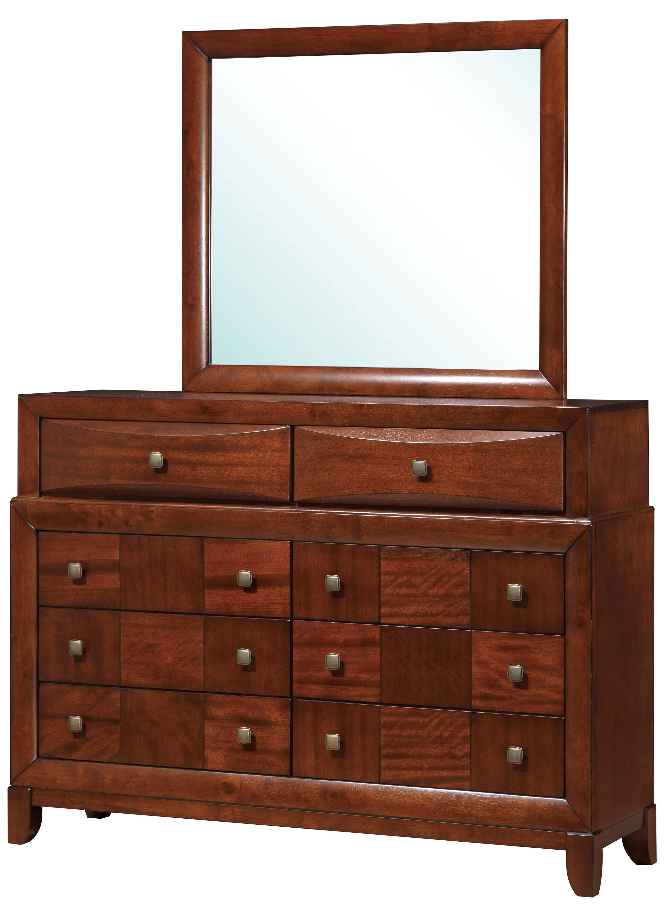 Oak Wood Dressers ~ Oasis oak wood dresser mirror the classy home