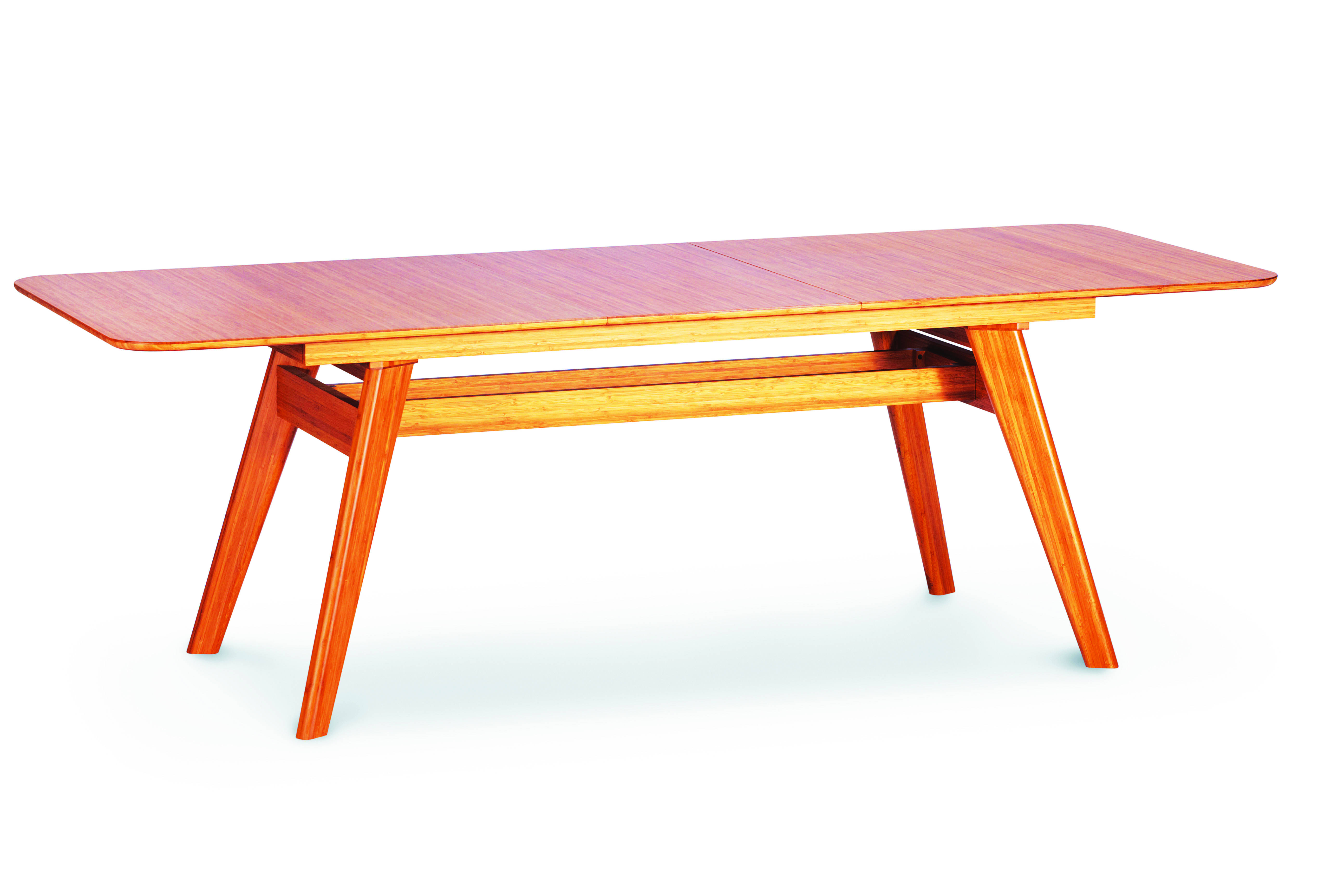 164676607fe7 Greenington Currant Modern Caramelized Bamboo Extendable Dining Table Click  To Enlarge ...