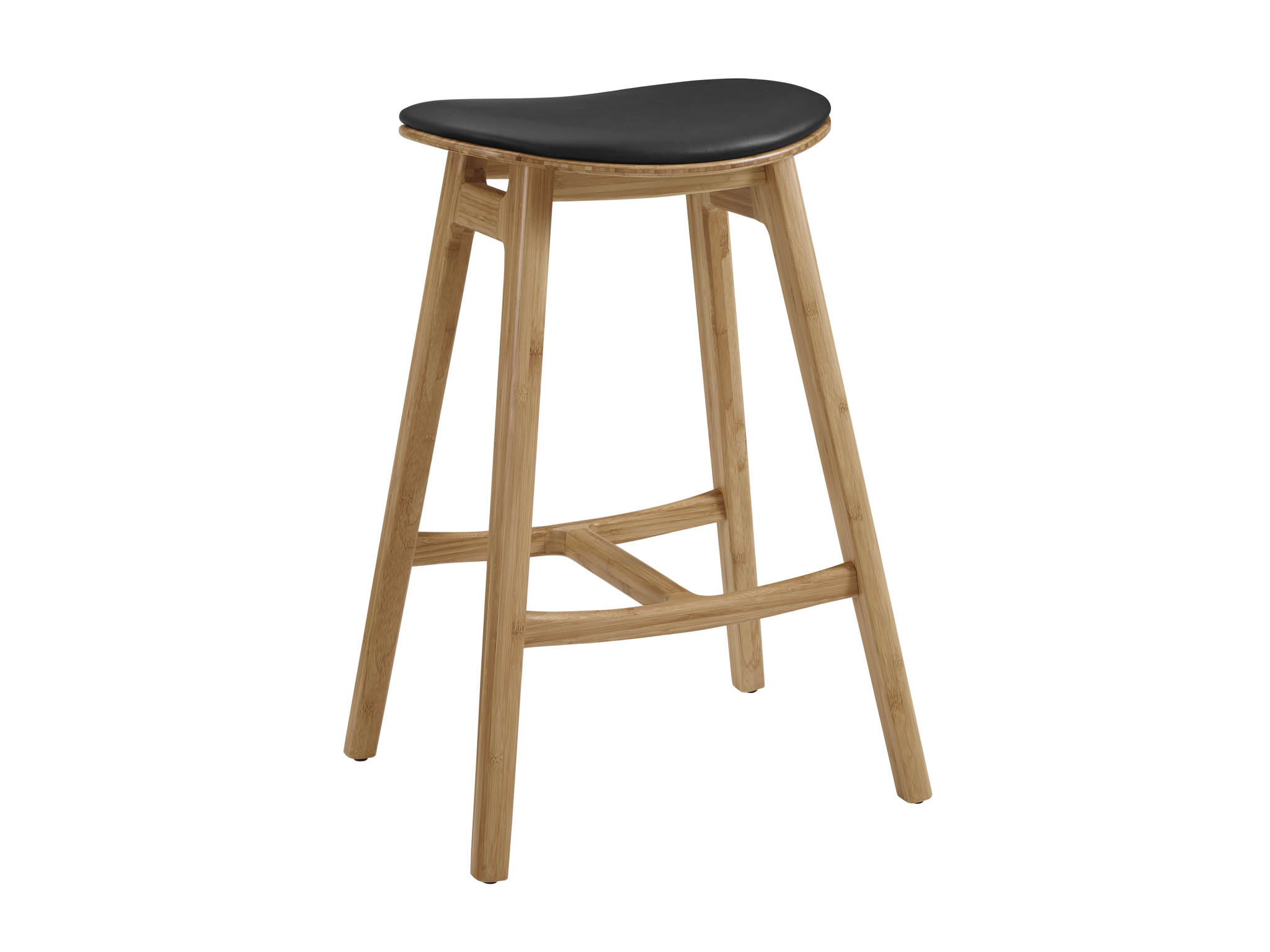 2 Greenington Skol Caramelized 30 Inch Counter Height Bar Stools