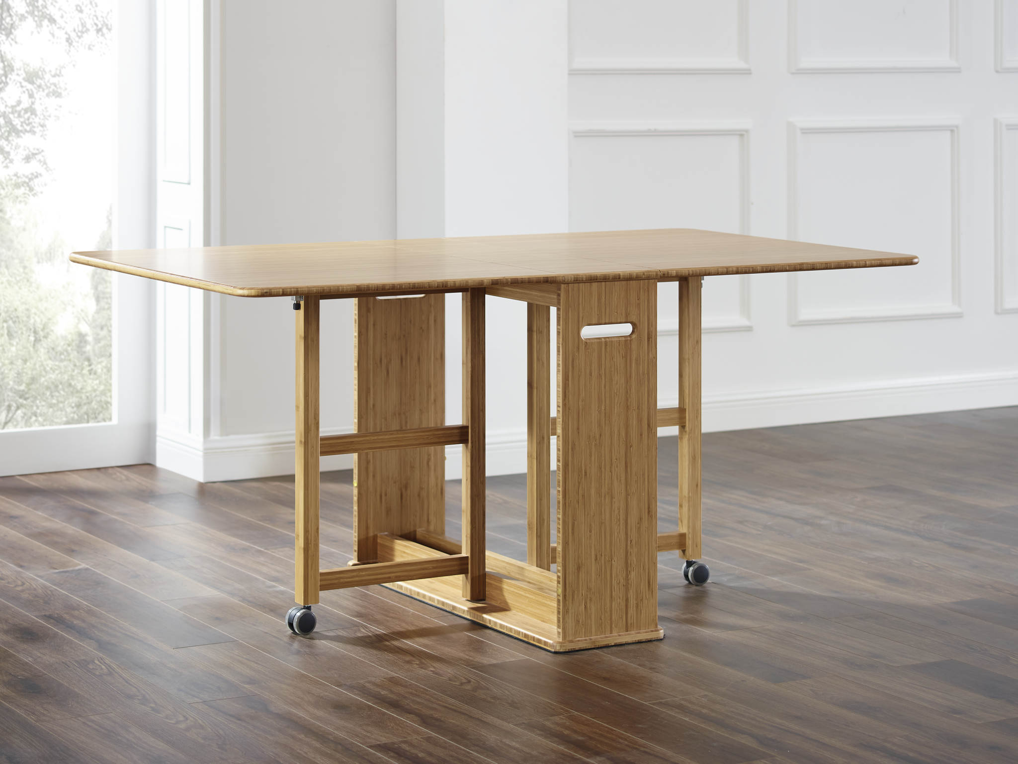 Bamboo Rectangle Gateleg Table