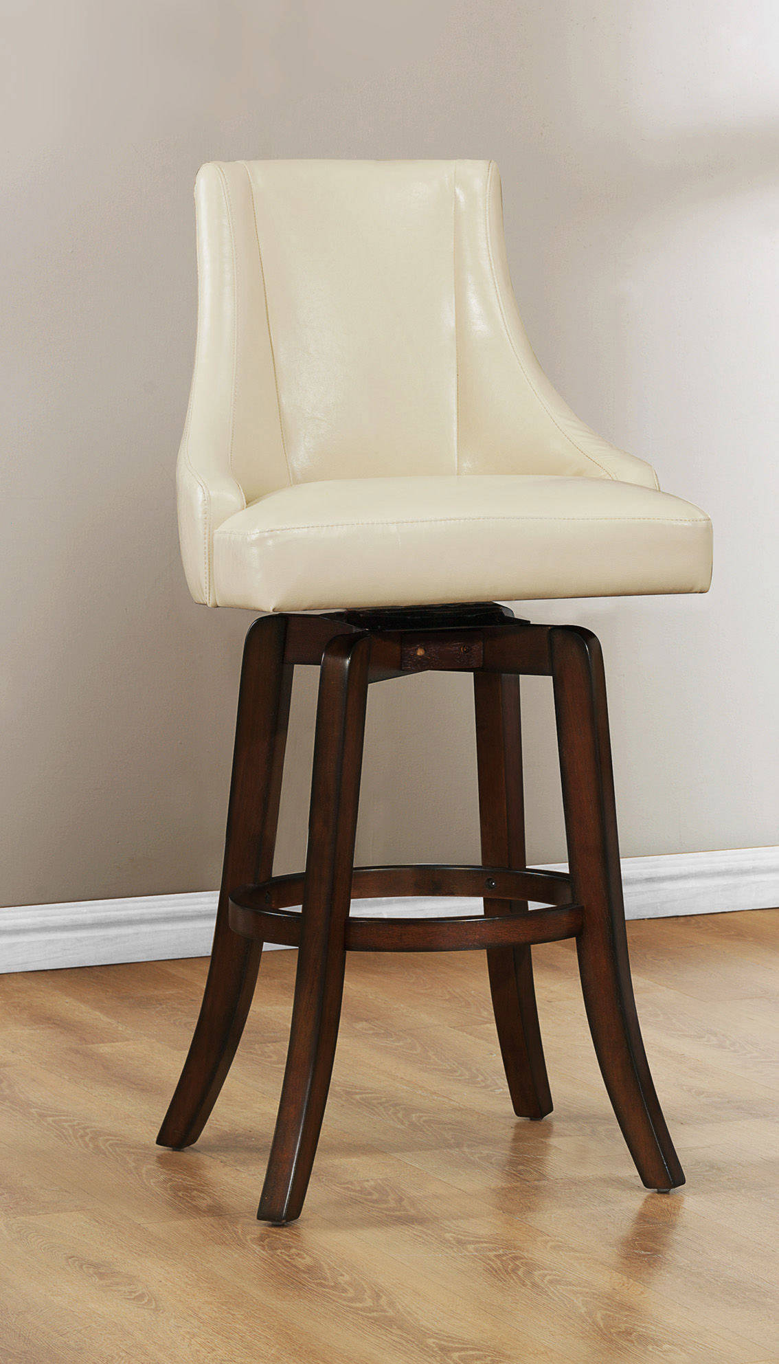 2 home elegance annabelle cream pub stools the classy home for Annabelle chaise
