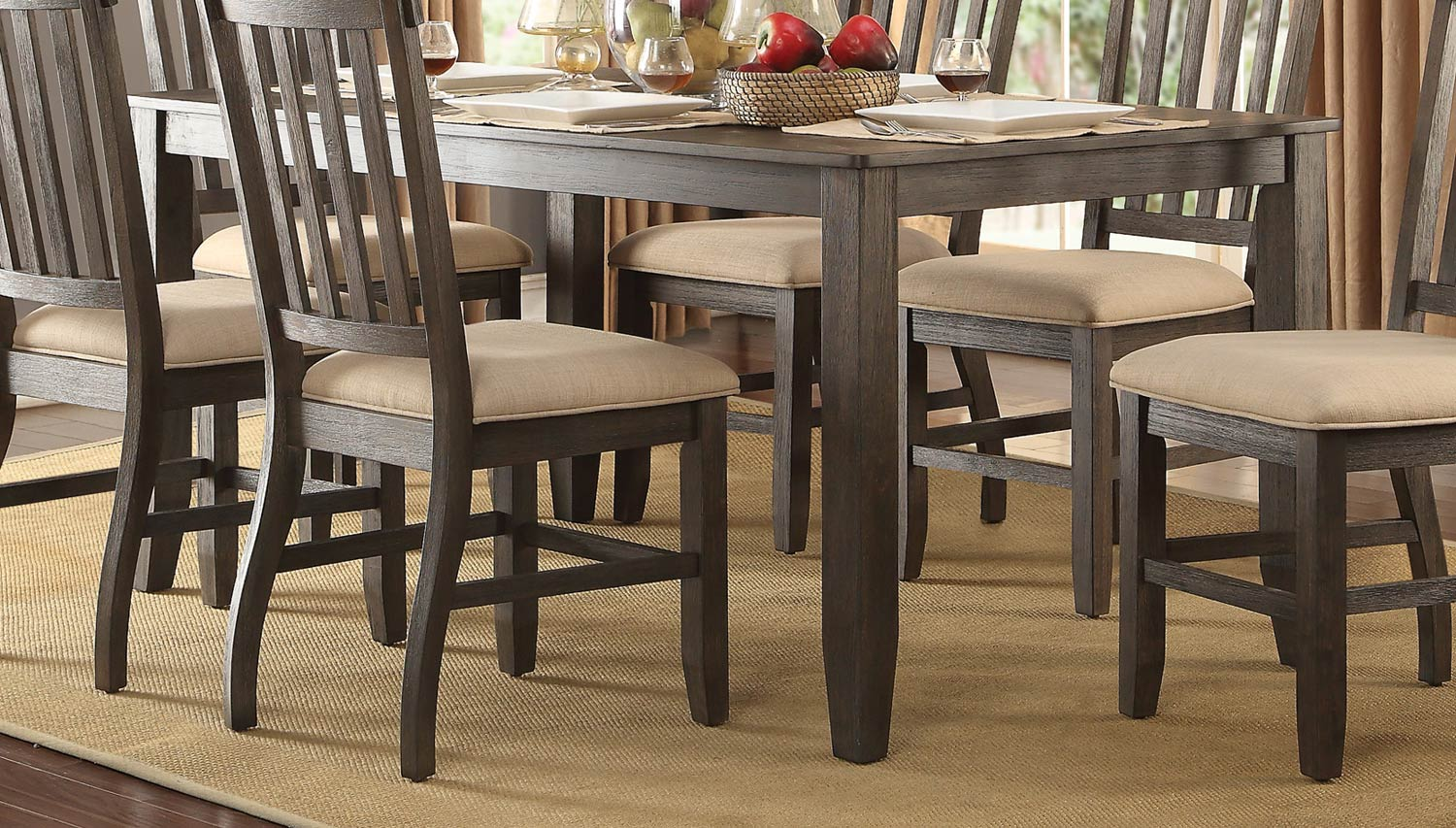 Home Elegance Nantes Dining Table The Cly