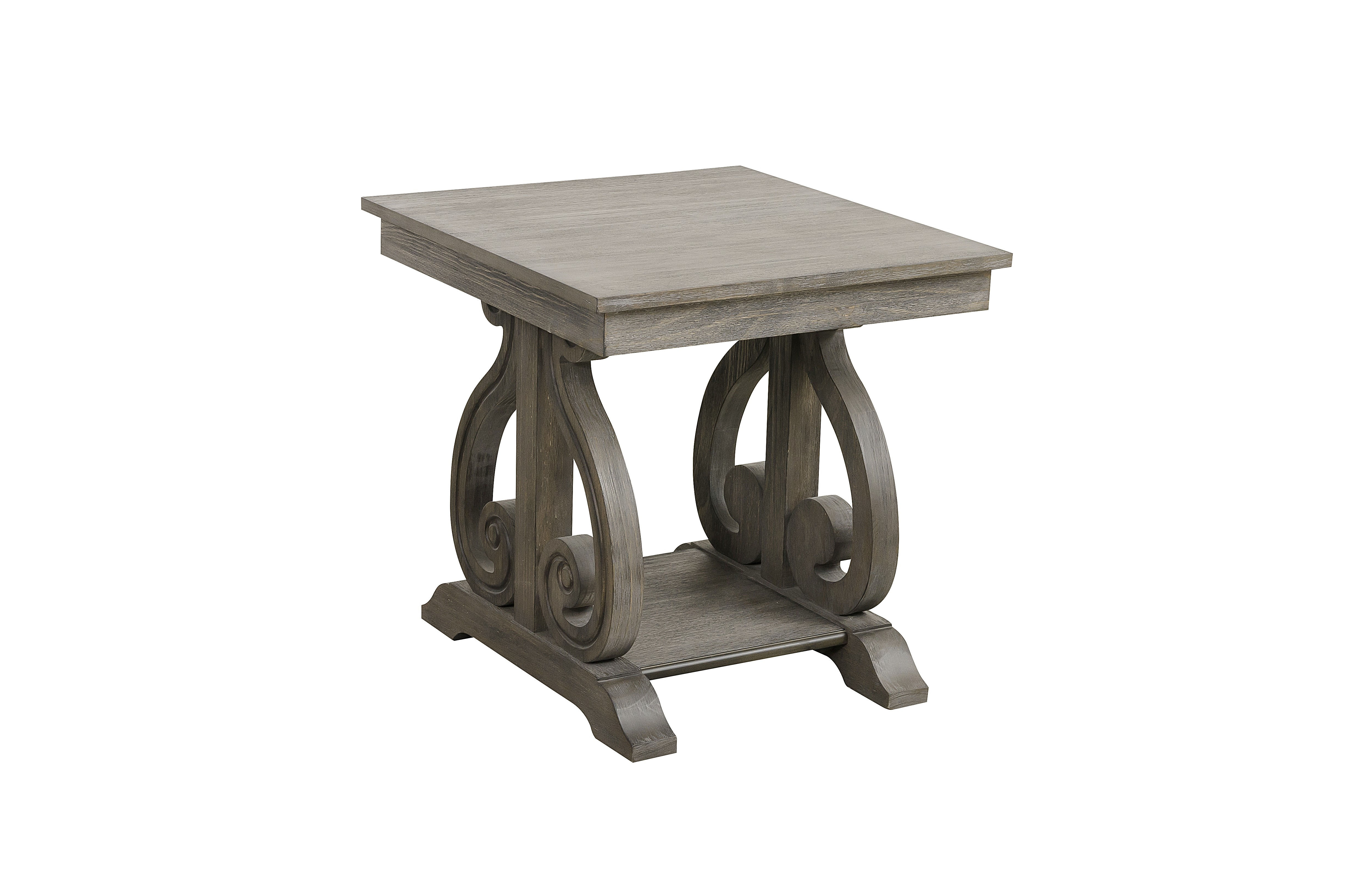 Beau Home Elegance Toulon Wire Brushed End Table Click To Enlarge ...