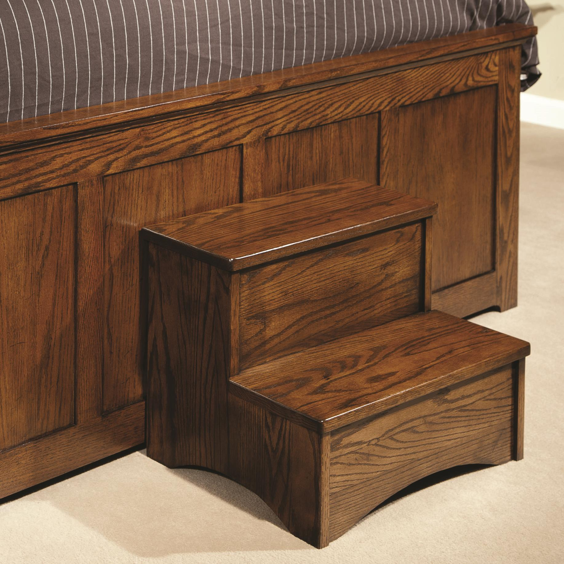 Intercon Oak Park Step Stool Click To Enlarge